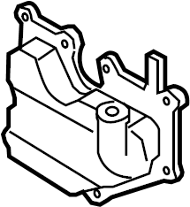 Mazda CX-7 Engine Crankcase Vent Valve. Engine Oil