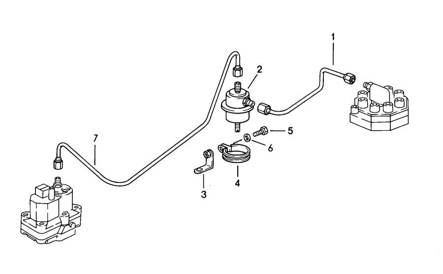 porsche 928 fuel distributor
