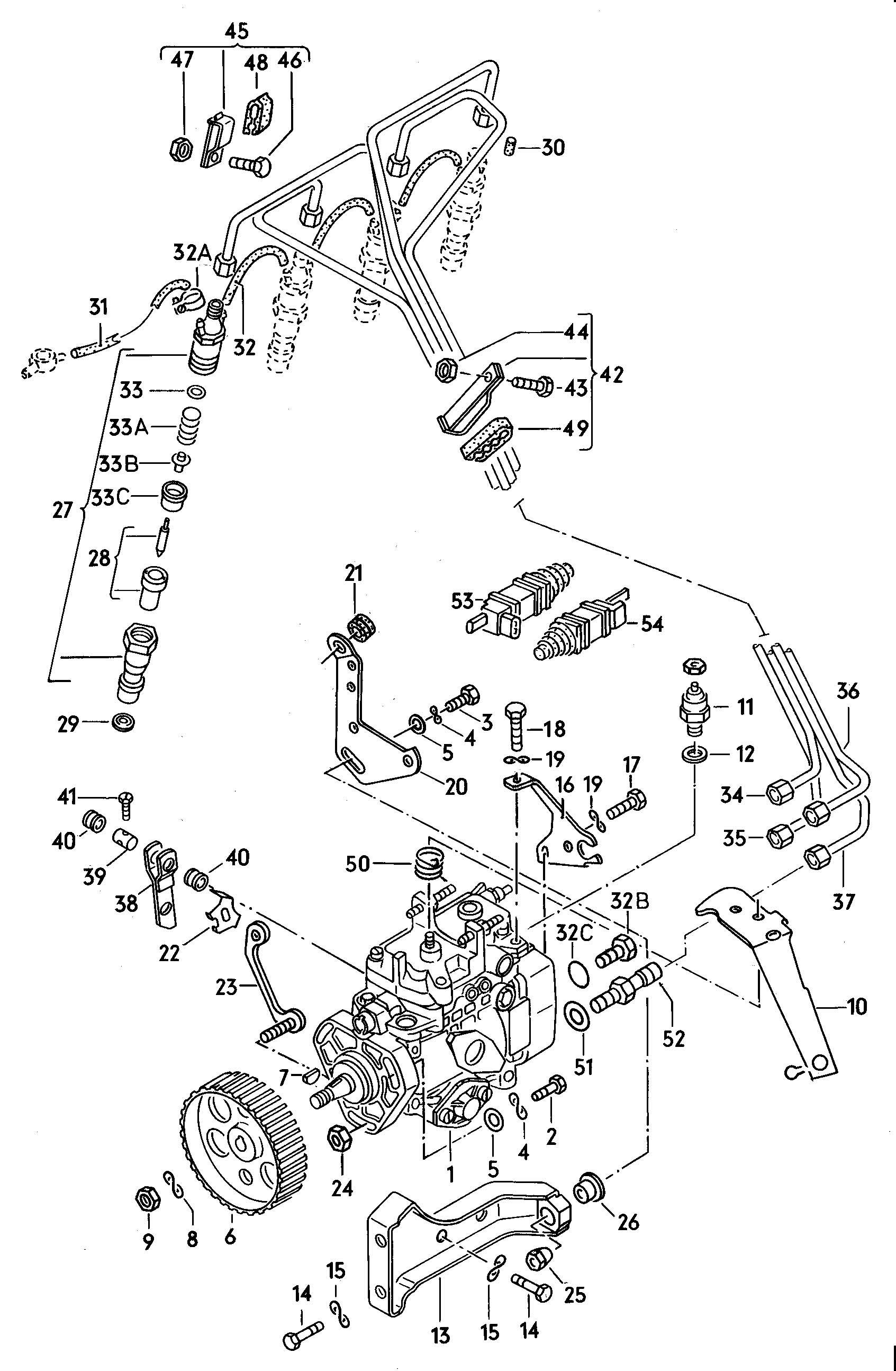 Volkswagen Vanagon Fuel cut-off solenoid. FUEL CUTOFF