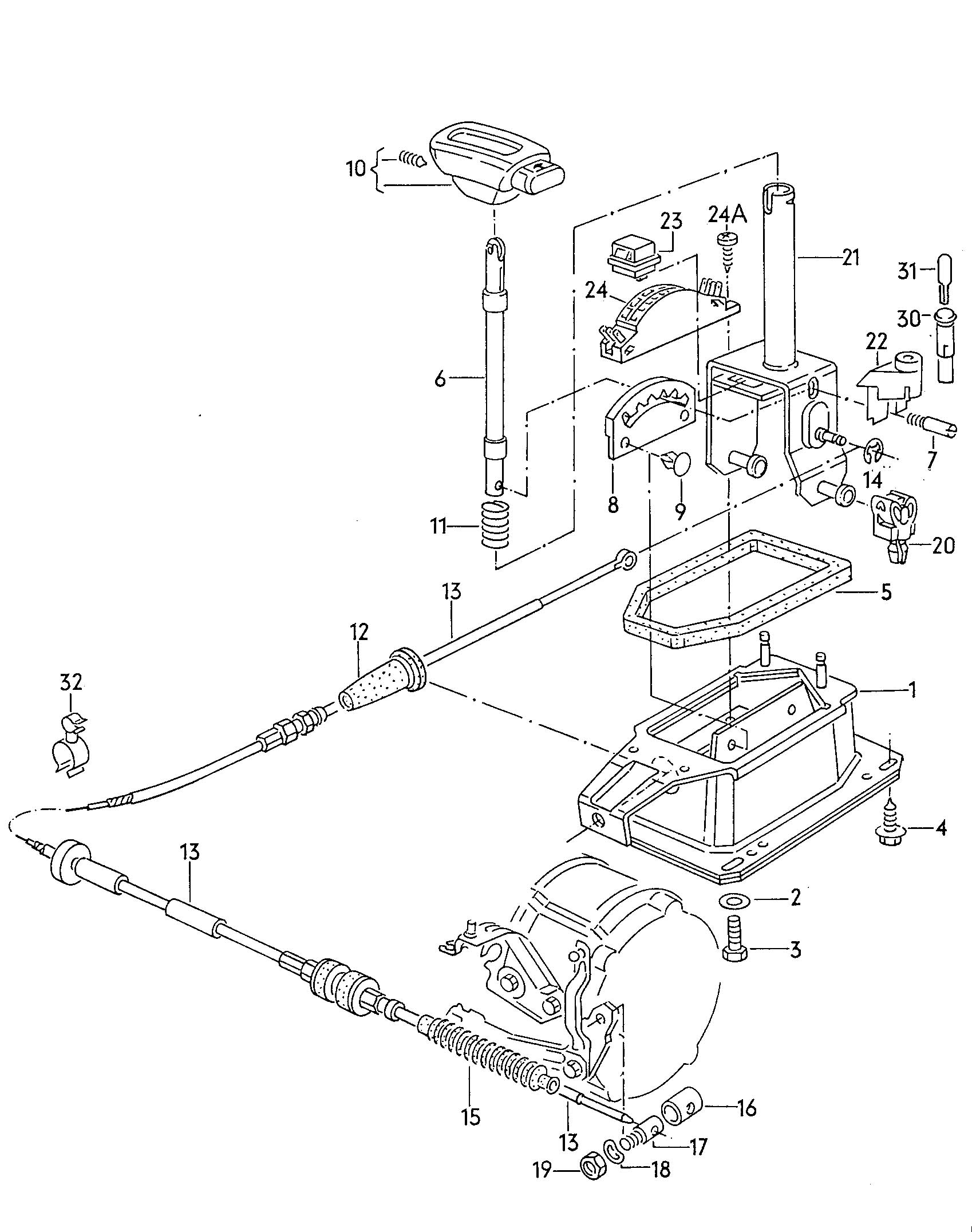 Service manual [How To Install Shifter Mechanism 1990