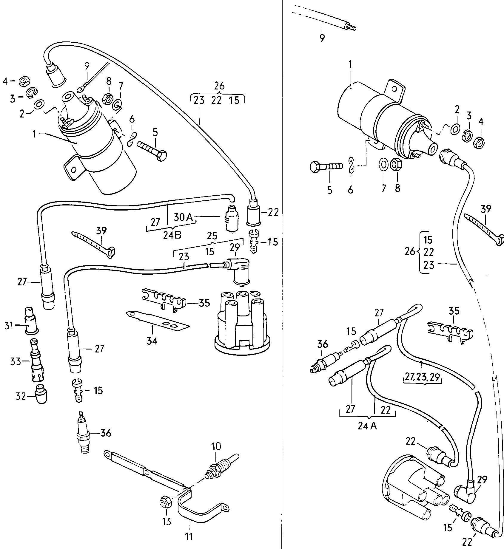 Volkswagen Jetta Current rail. Diesel eng. Transistor