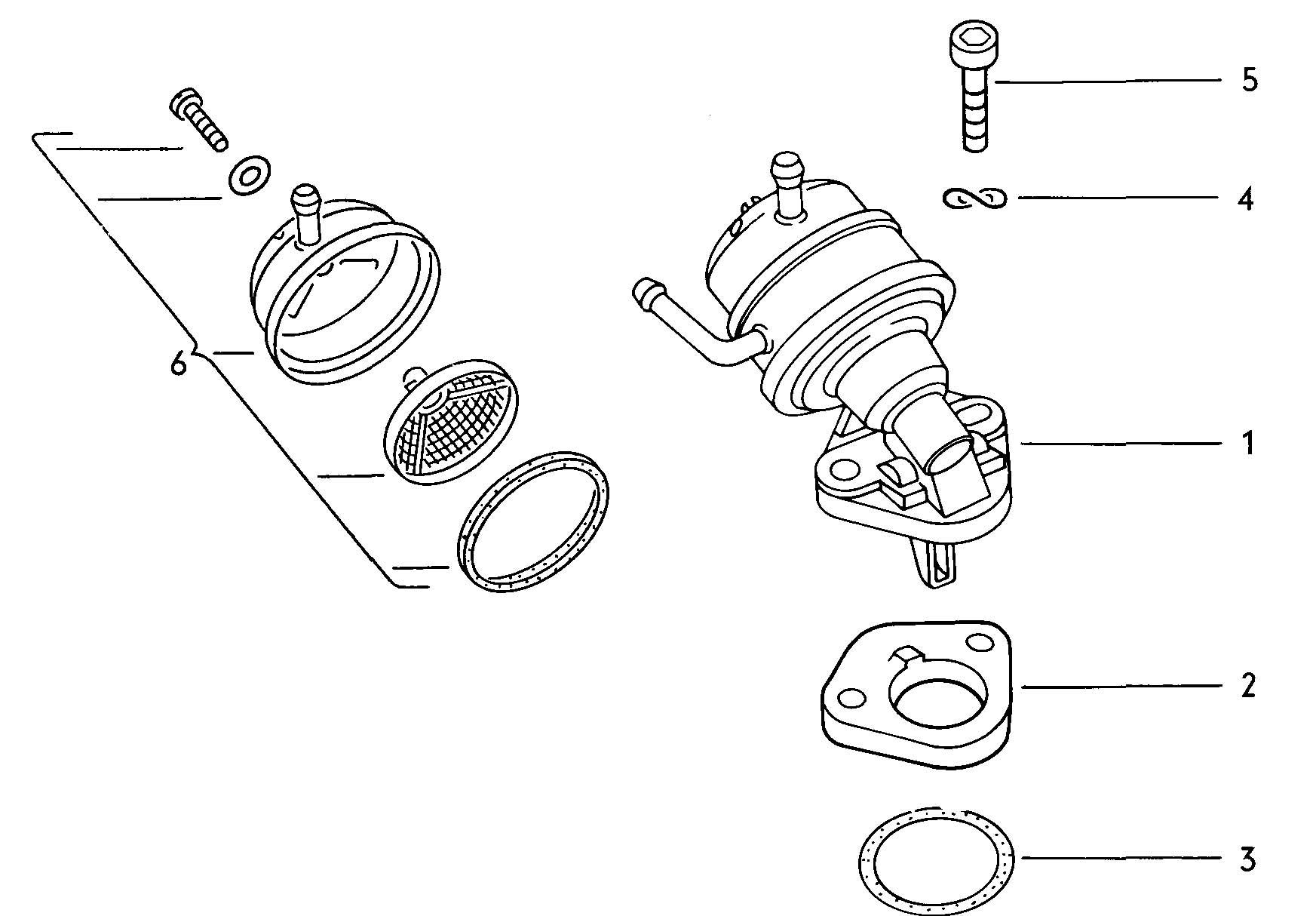 Volkswagen Dasher Fuel Pump Also Use