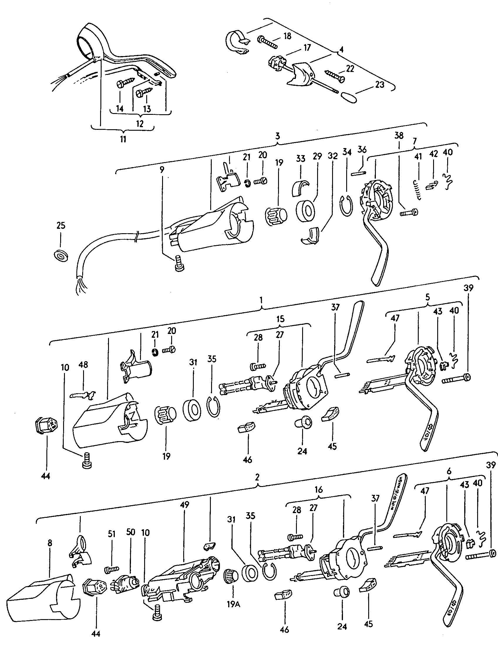 1968 Volkswagen Beetle Thrust ring. TM 1-3/1989. Flasher