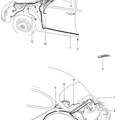 1967 Volkswagen Wiring Diagram 2 Switch Vw Bug Tail Light Auto