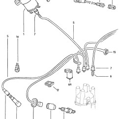 Vw Bug Ignition Coil Wiring Diagram Dimmable Ballast Volkswagen Beetle Wire Spark Plug