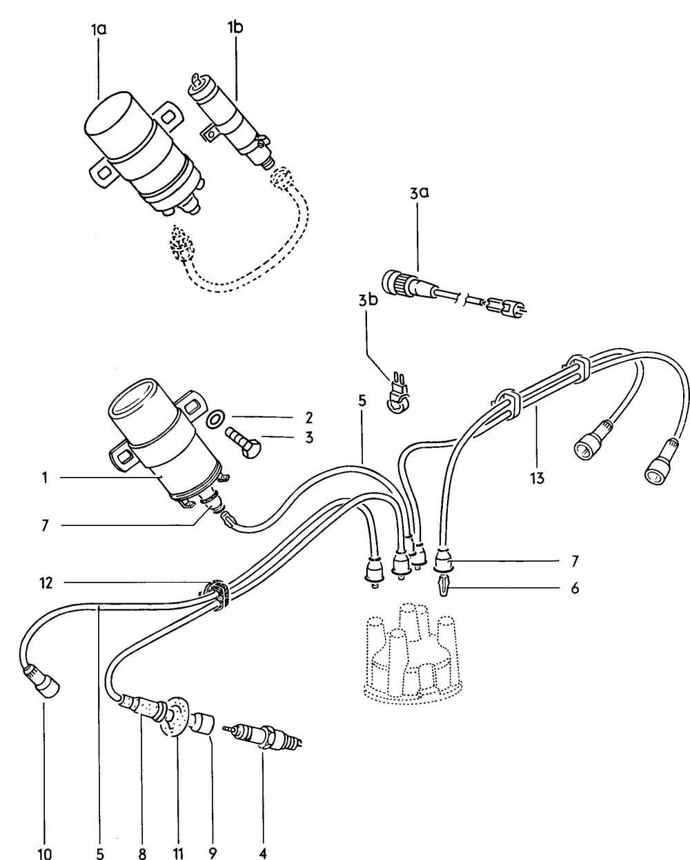 medium resolution of 1971 volkswagen coil wiring