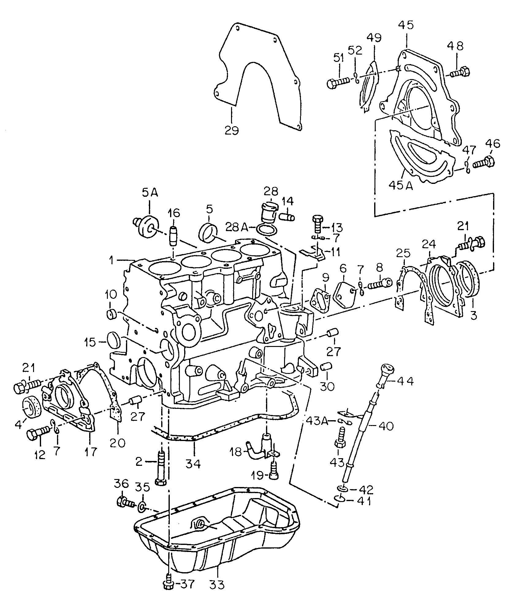 Volkswagen Jetta Plug Drain Oil M14x1 5 Bufox