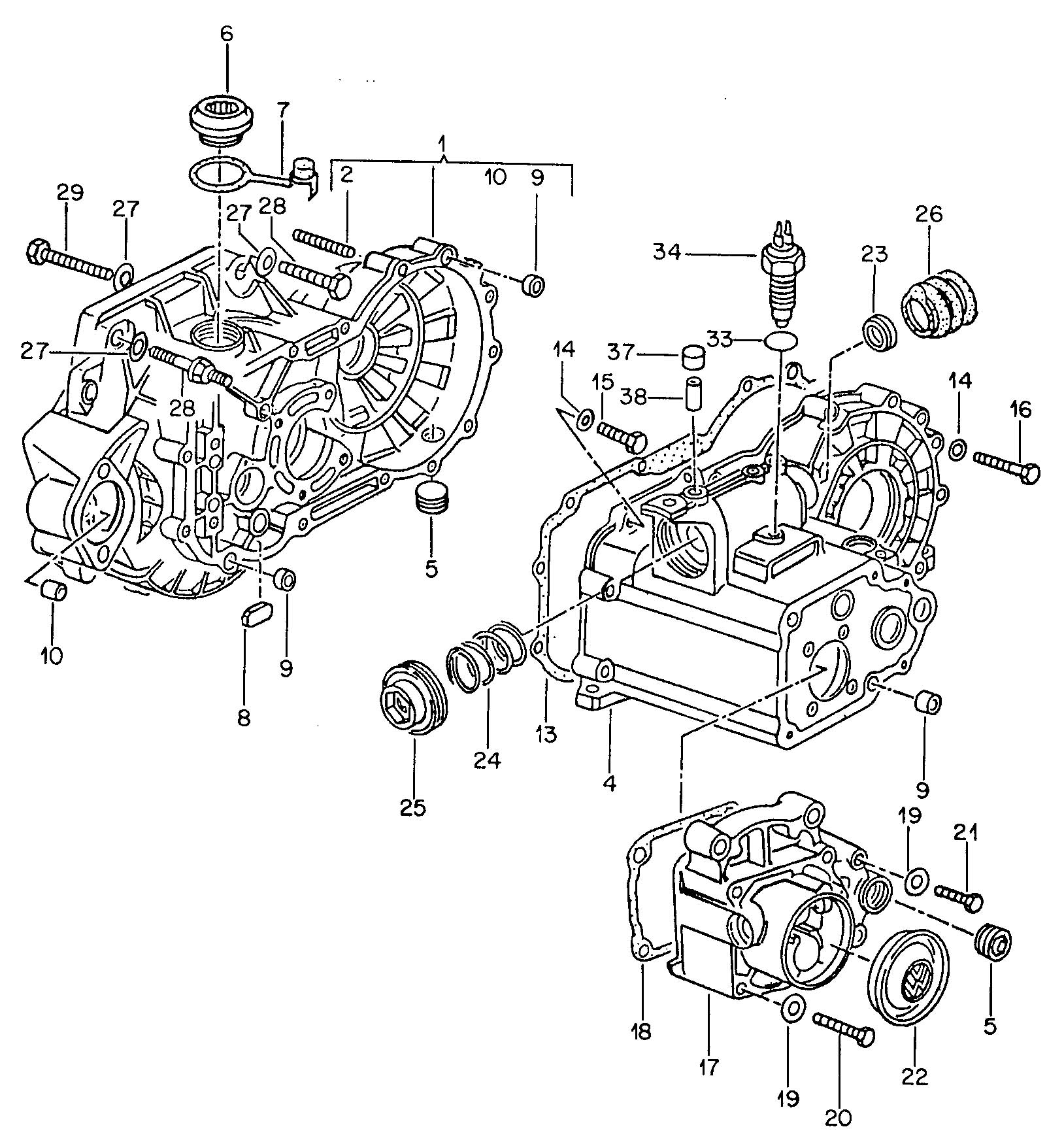 [DIAGRAM] 1999 Vw Jetta Manual Transmission Diagram FULL