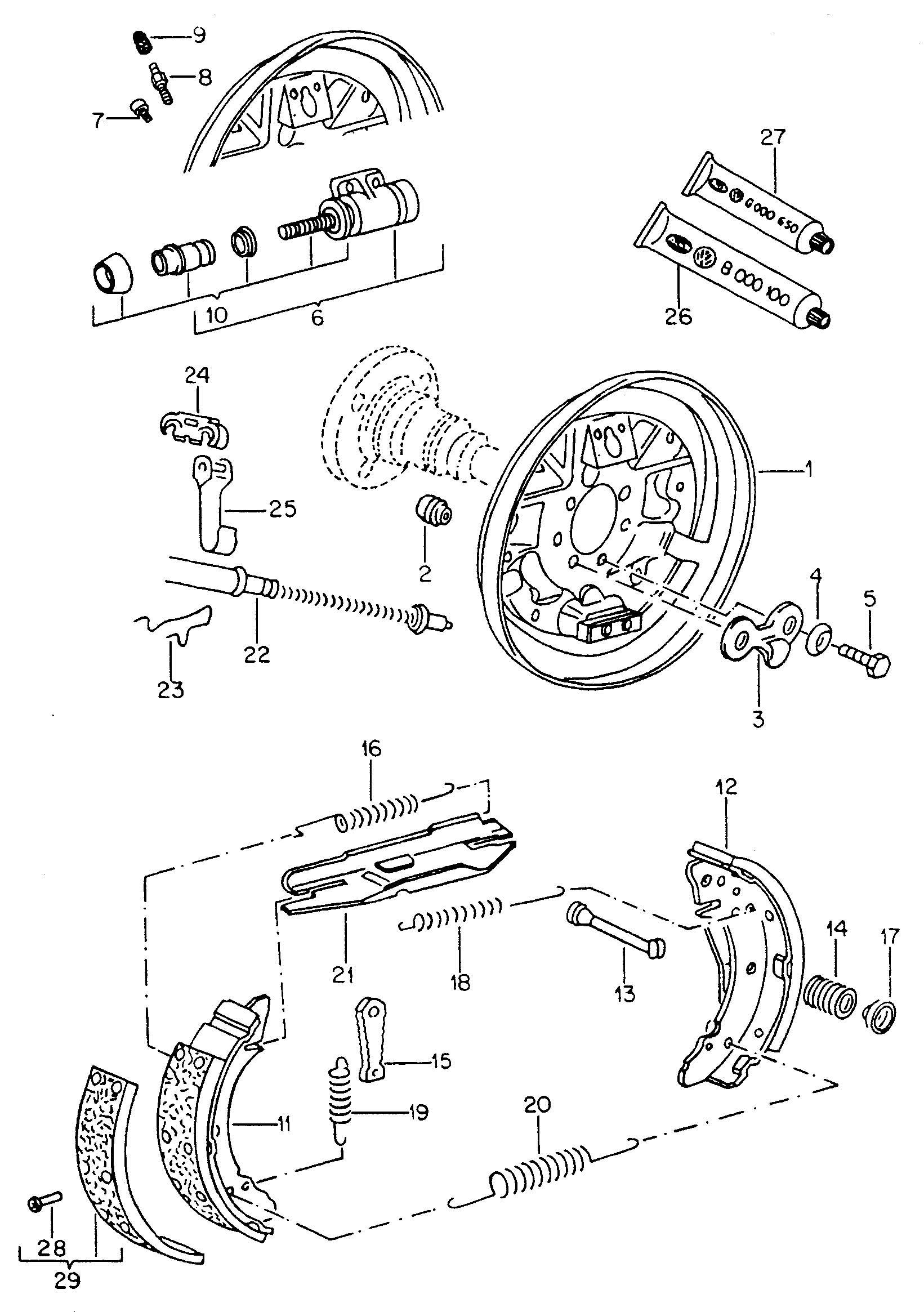 Ford F700 Hydraulic Brake Diagram