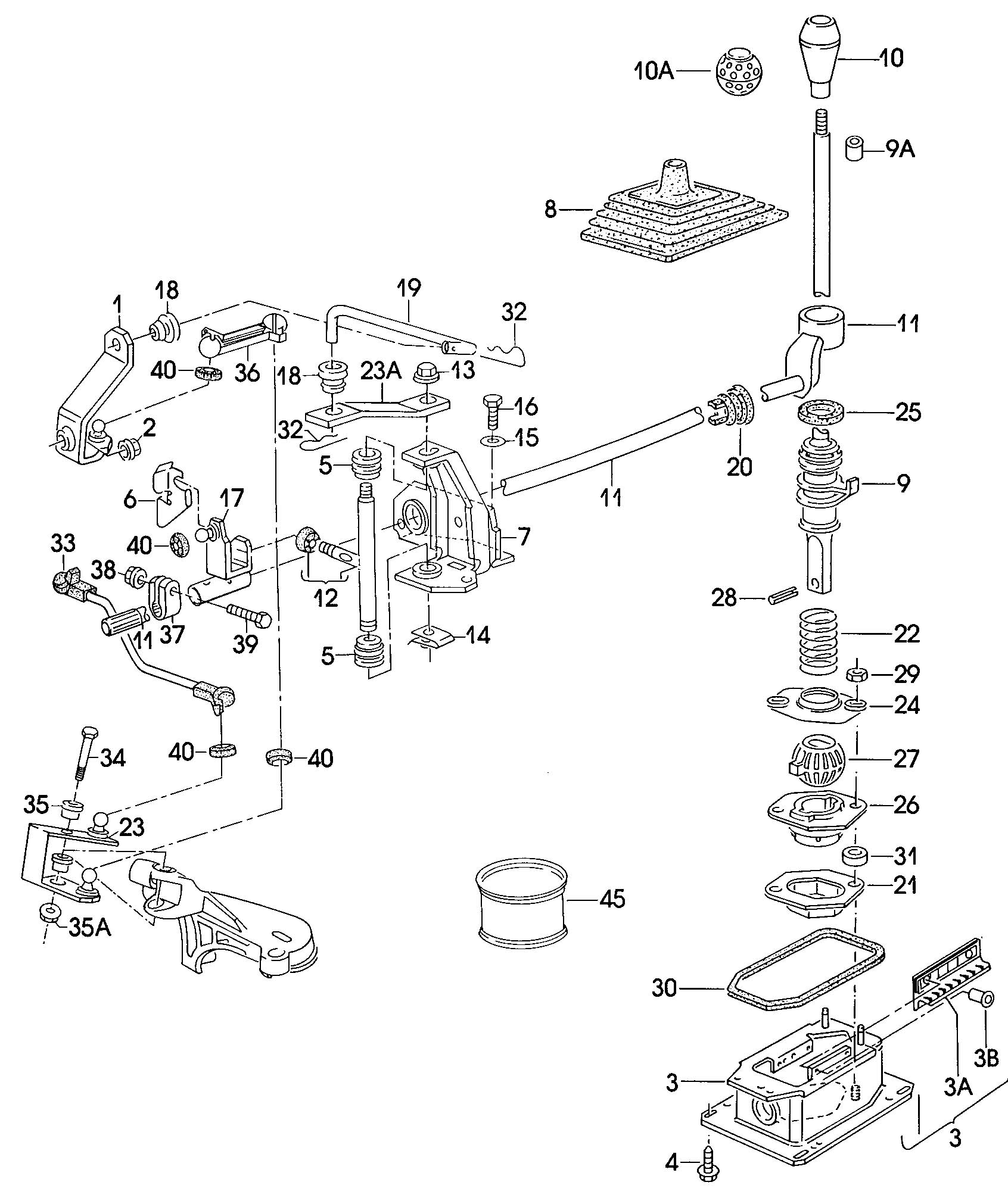 Sifting 2000 Volkswagen Jetta Parts Diagram. Volkswagen