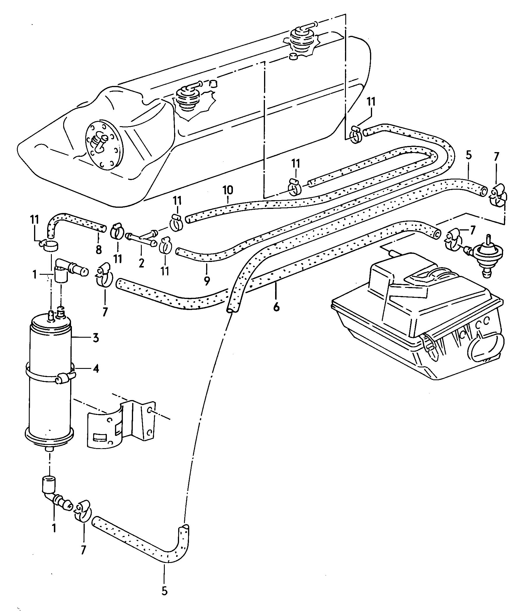 Service manual [1991 Land Rover Sterling Evap Canister