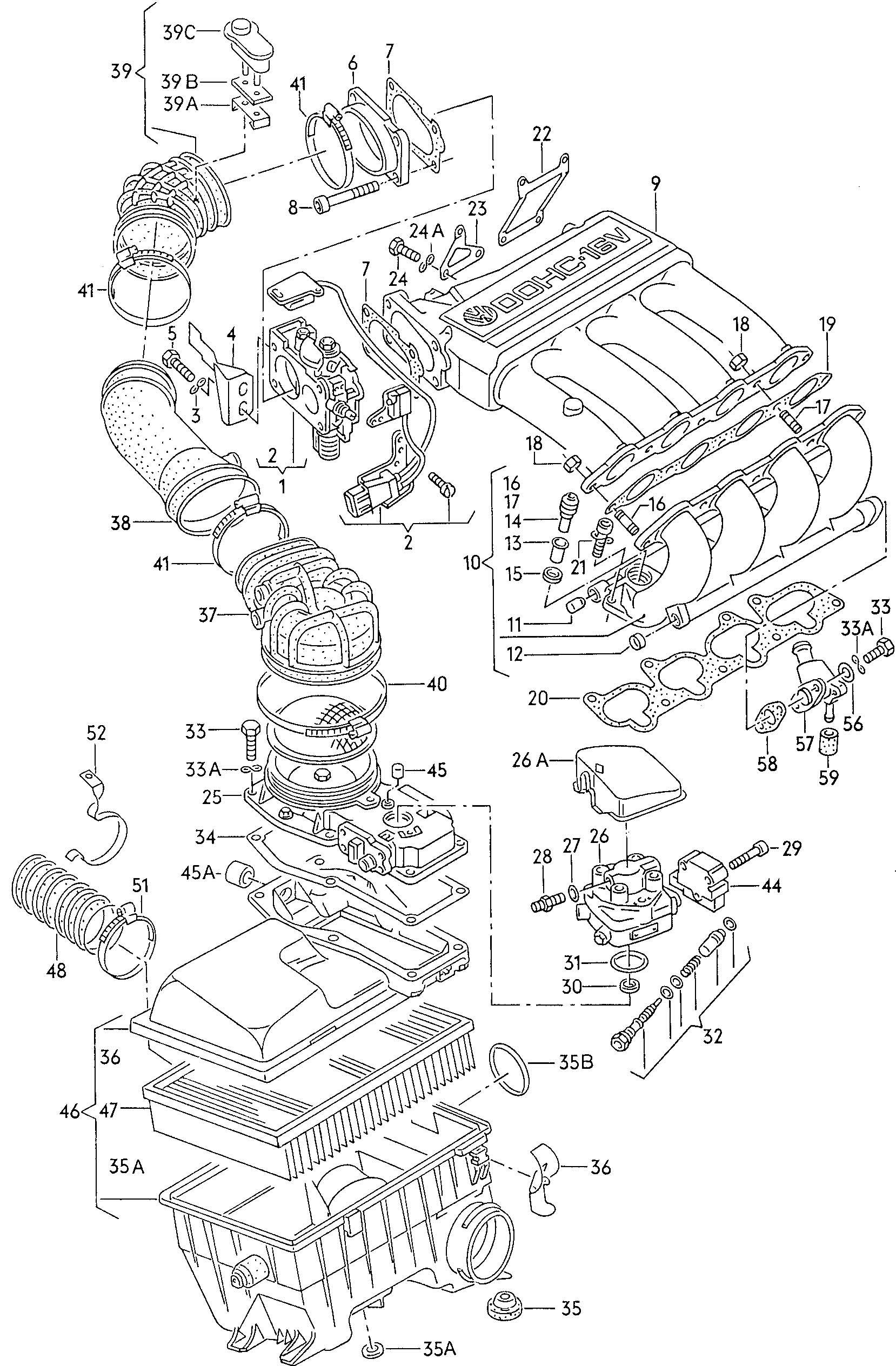 Volkswagen Passat Dual Thermostat