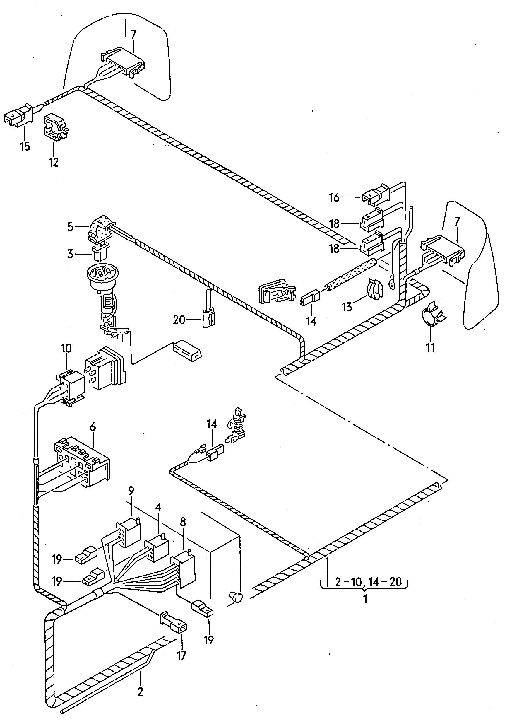Volkswagen Jetta Rear Brake Parts Diagram. Volkswagen