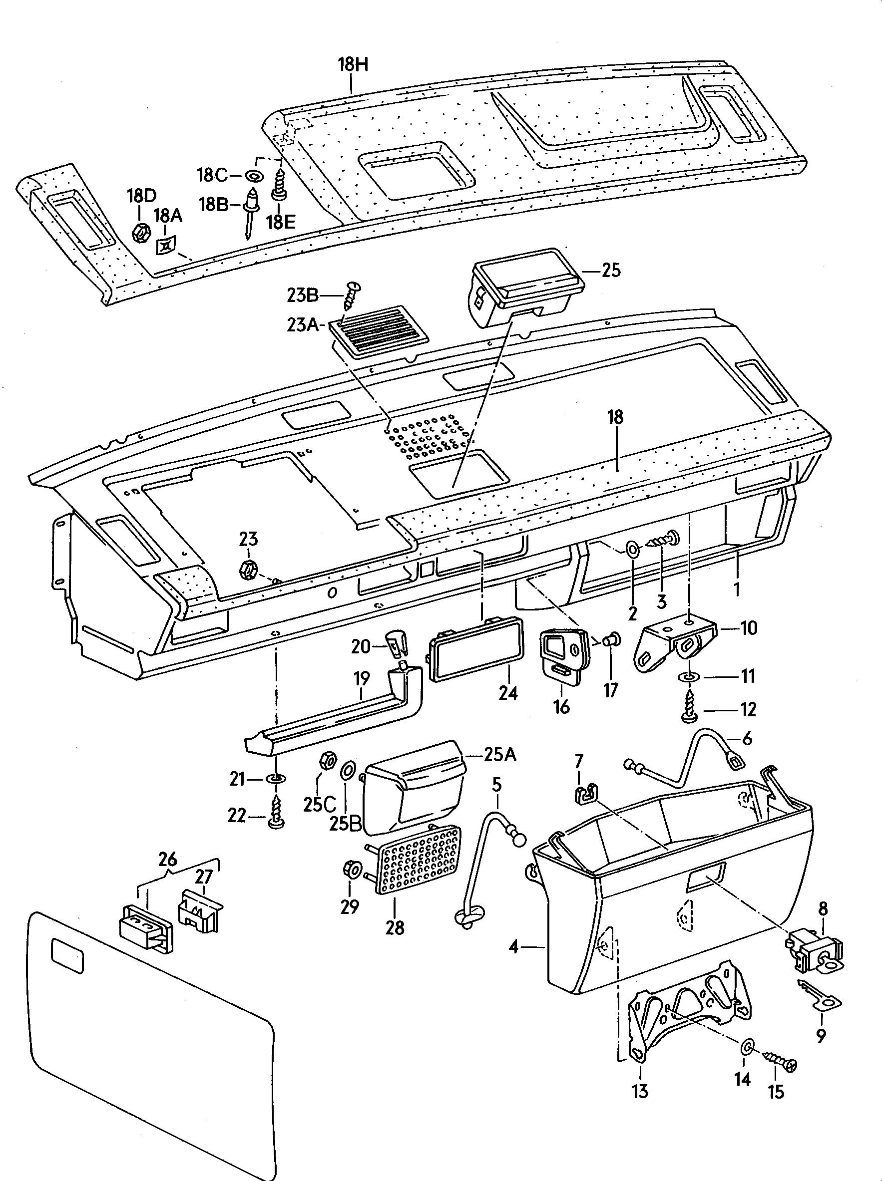 Service manual [Installation Of Rear Ashtray For A 1986