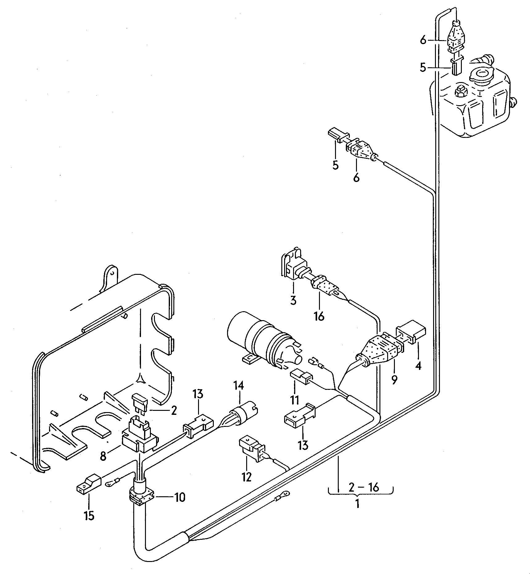 Volkswagen Vanagon Cam position sensor(hall sens