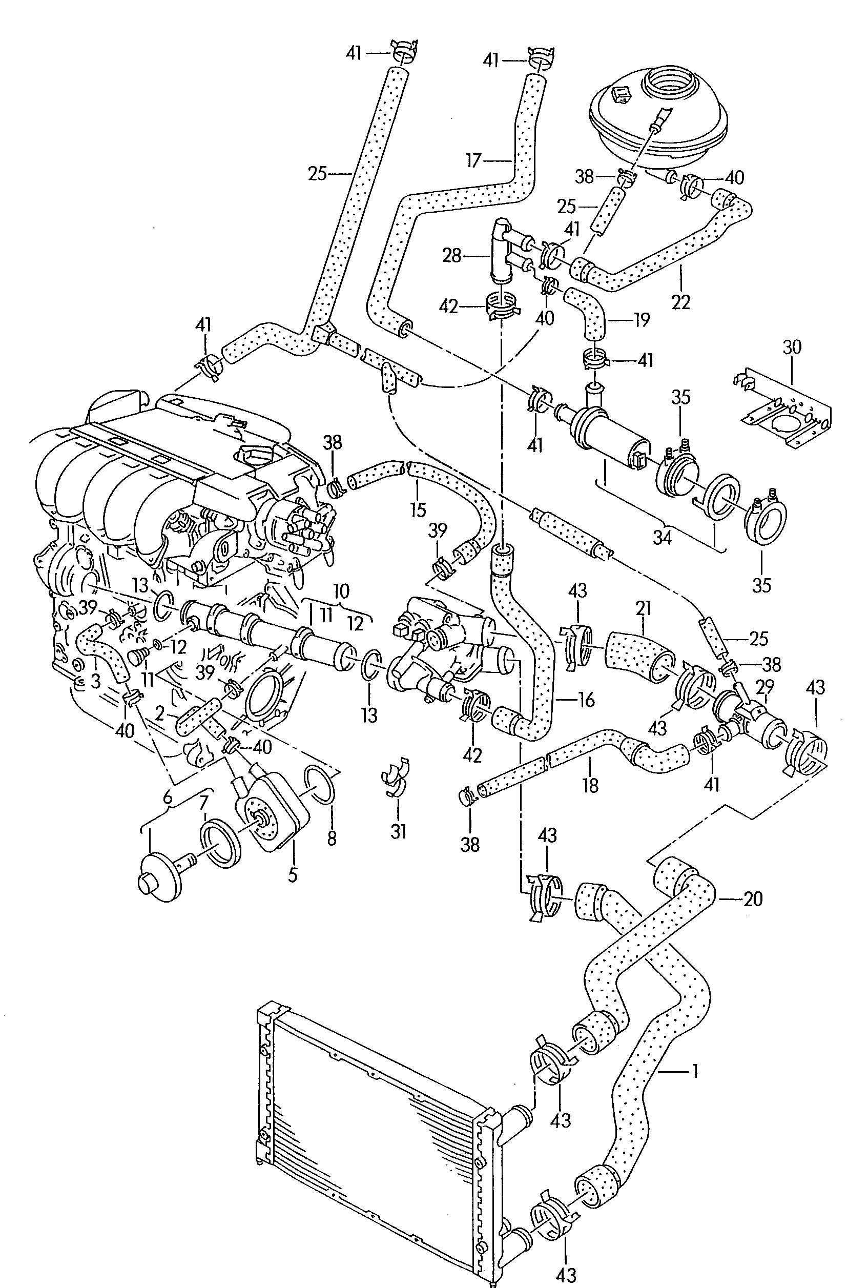 Volkswagen Corrado Temperature Sensor Male Blade Terminal