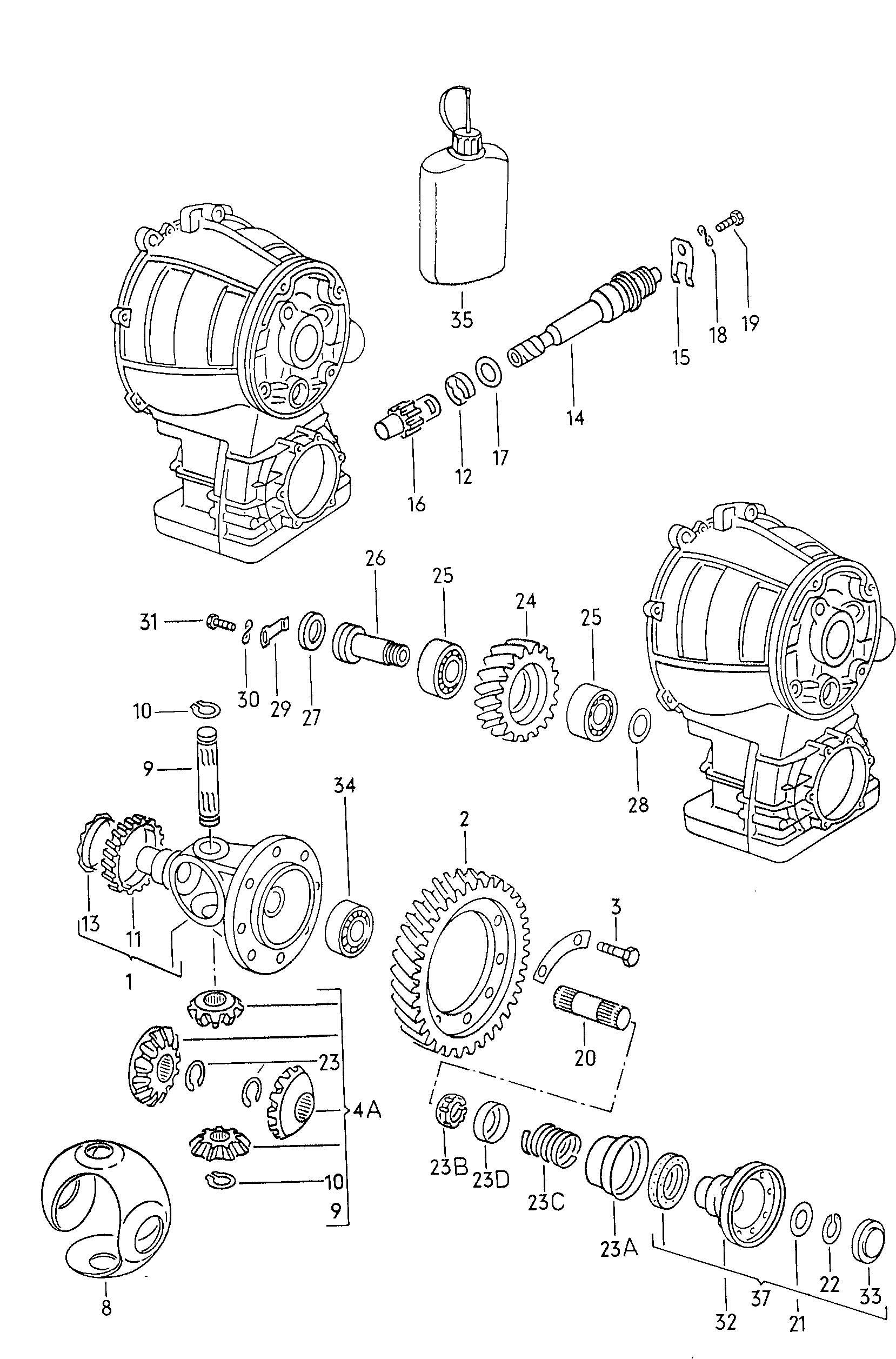 Volkswagen Jetta Pinion Speedometer Speedometer Pinion