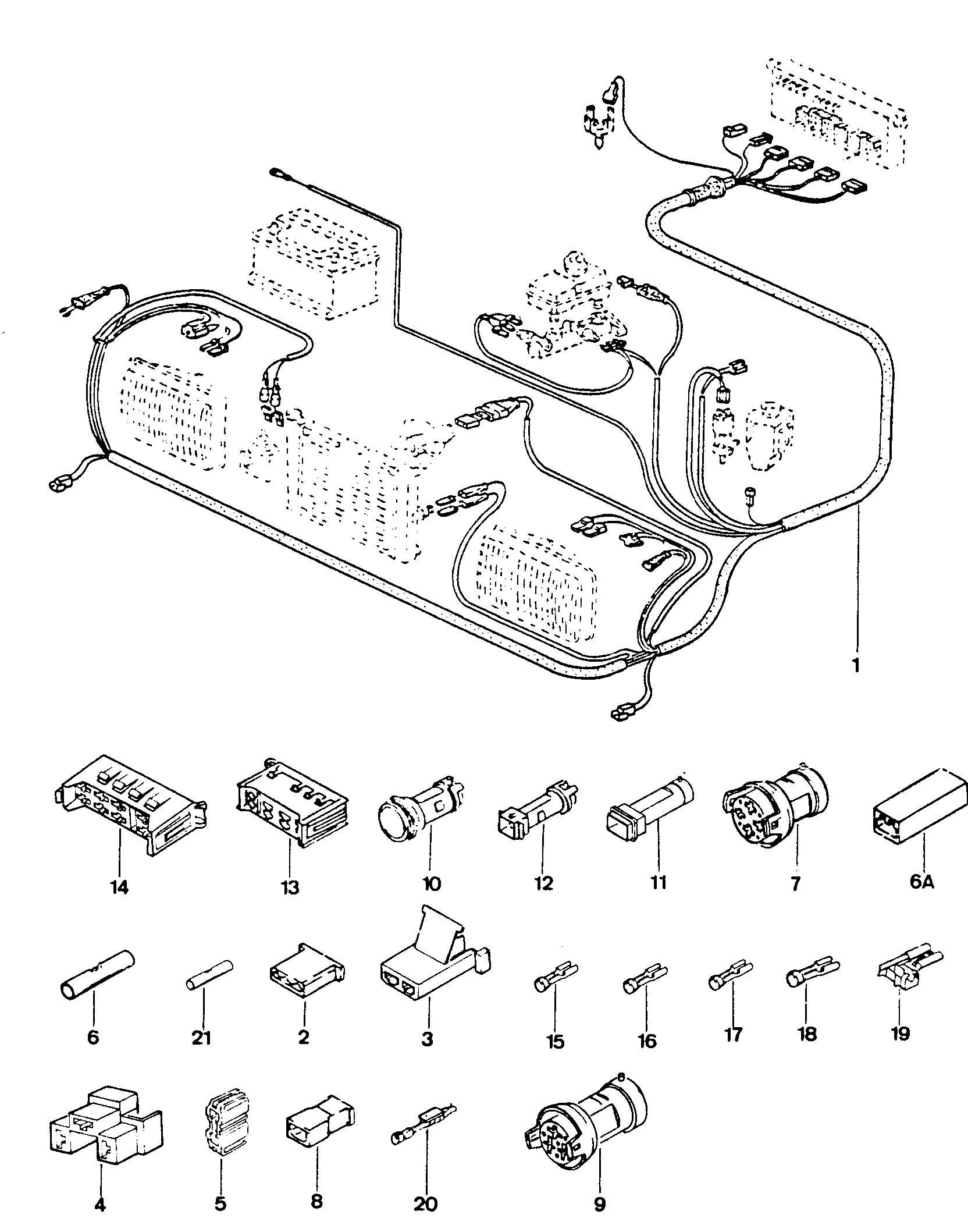 Volkswagen Fox Cam position sensor(hall sens) alternator