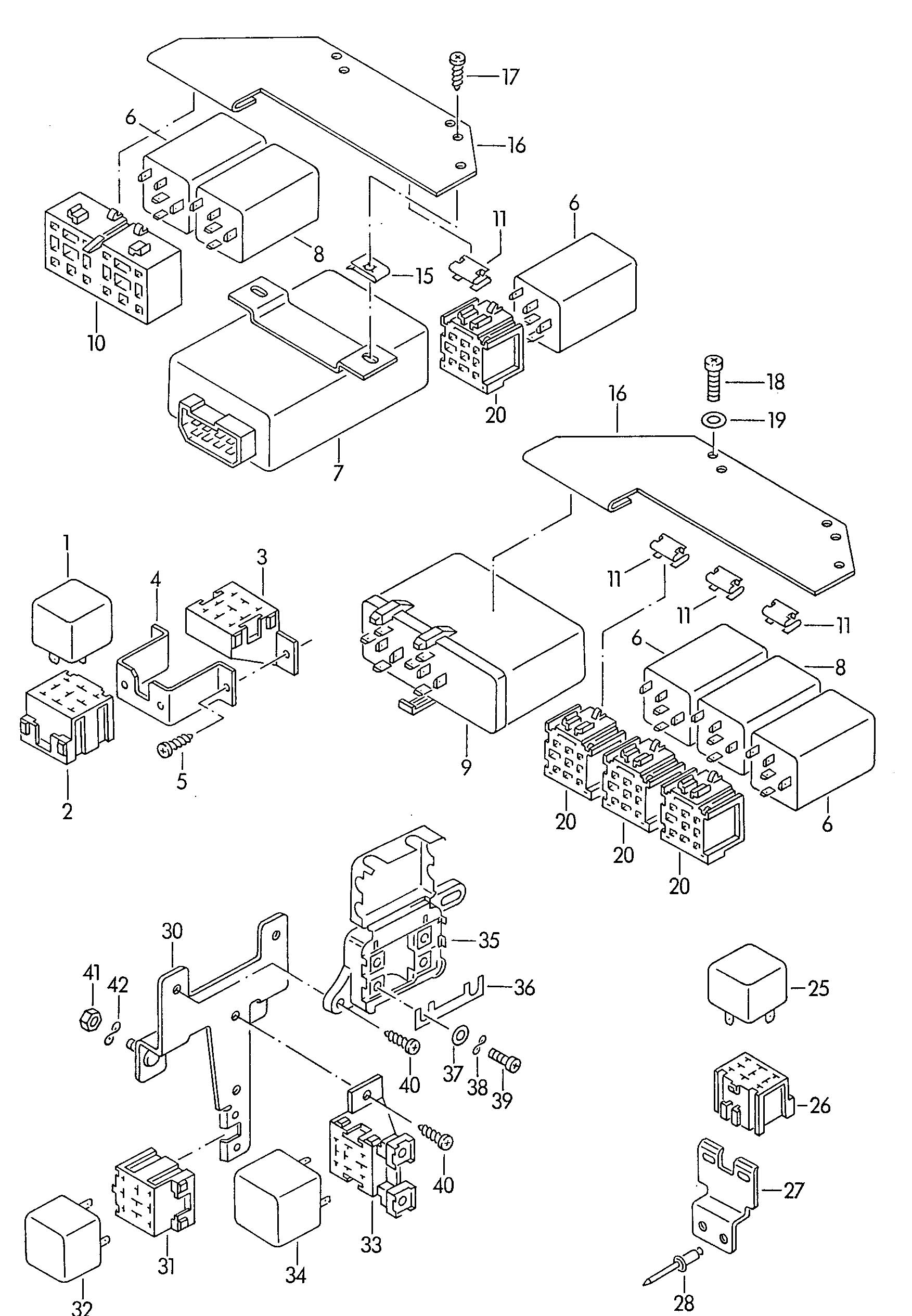 [DIAGRAM] 1993 Vw Eurovan Wiring Diagram FULL Version HD