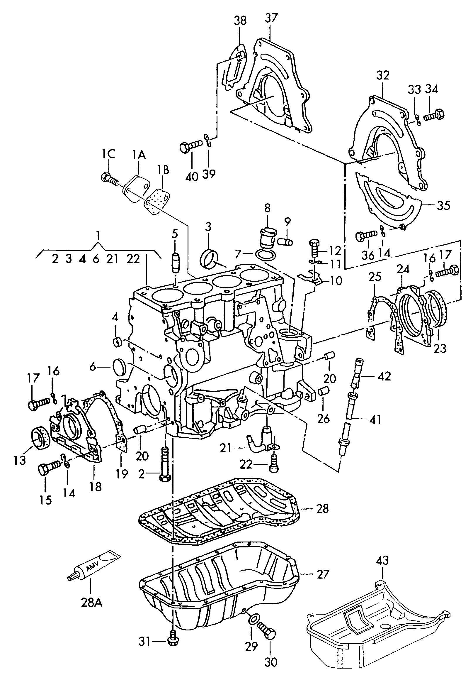 Volkswagen Jetta Cover plate also use:. Upper. Oben