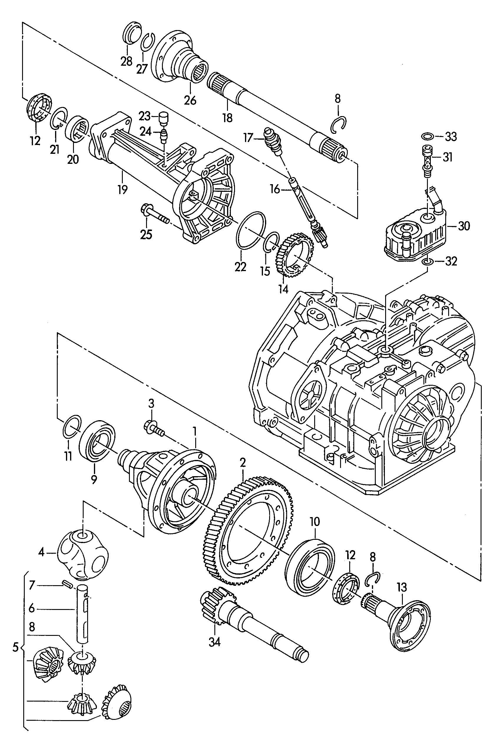 Volkswagen EuroVan Circlip. PROPELLER, EQH, EHVDVZEZG