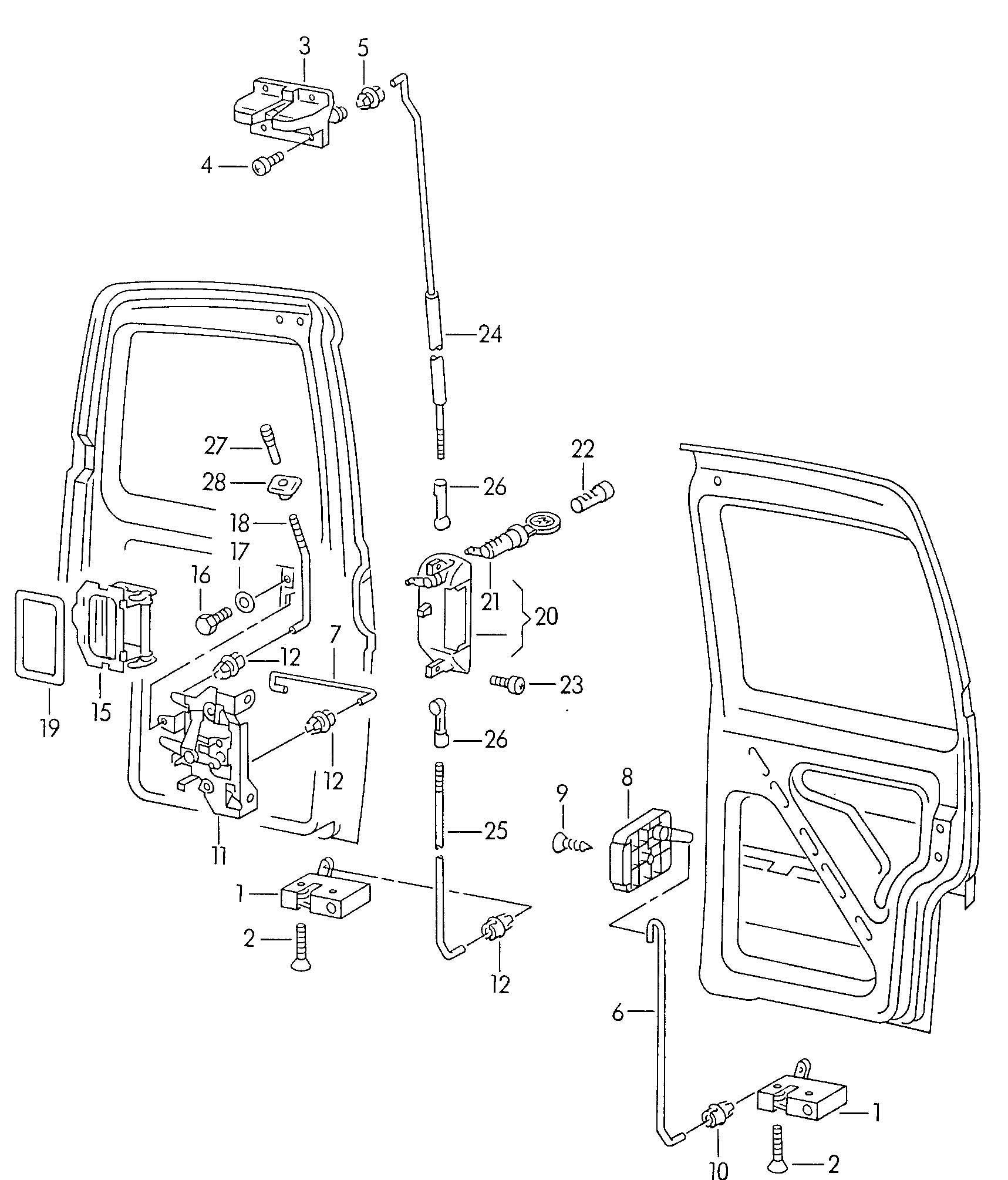 Volkswagen Eurovan Clip Wing