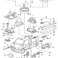 Vw Transporter Wiring Diagrams 1931 Ford Diagram Volkswagen Eurovan Load Compartment Light Luggage