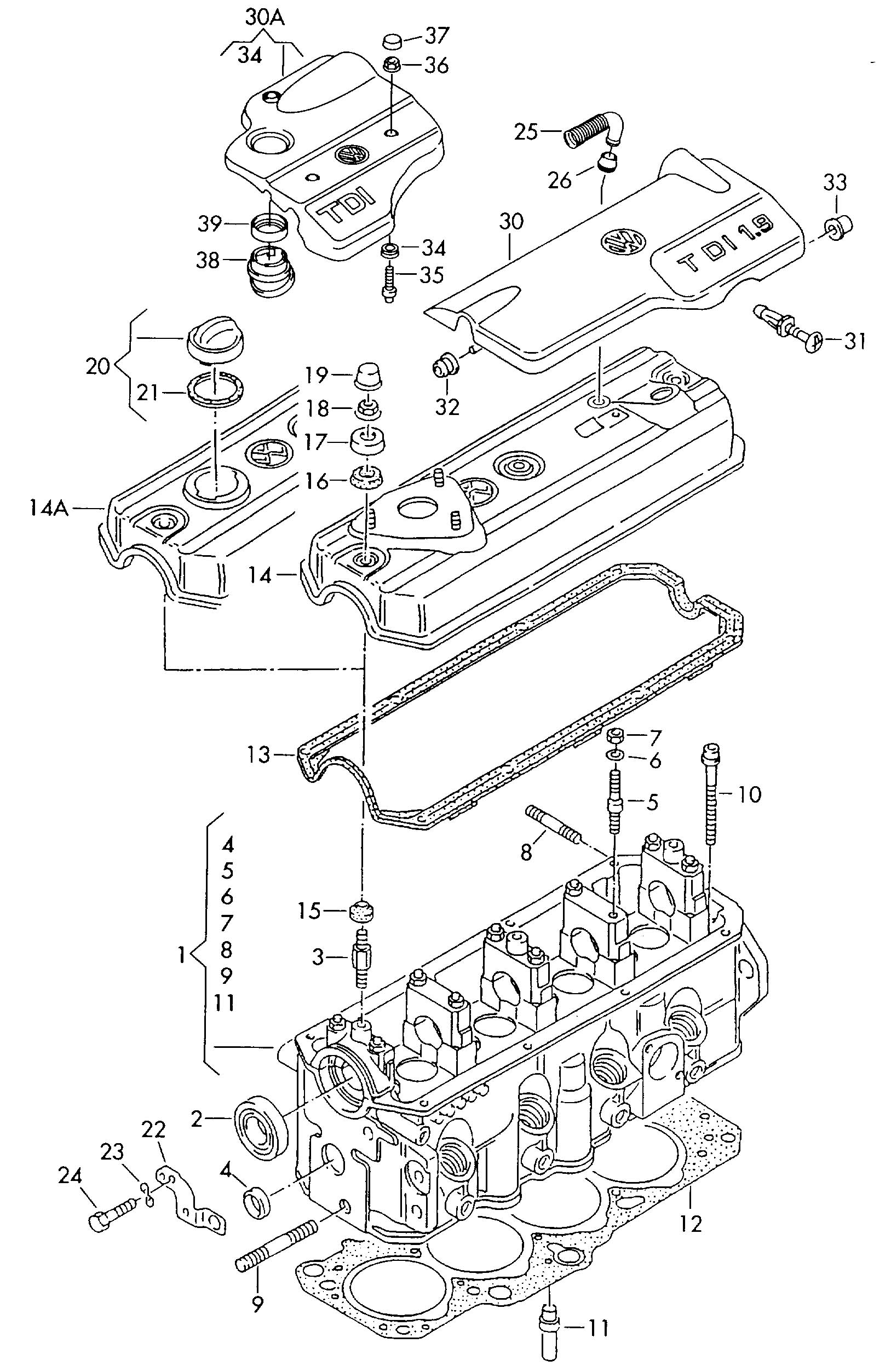 Wiring Diagram PDF: 2003 Jetta Engine Diagram