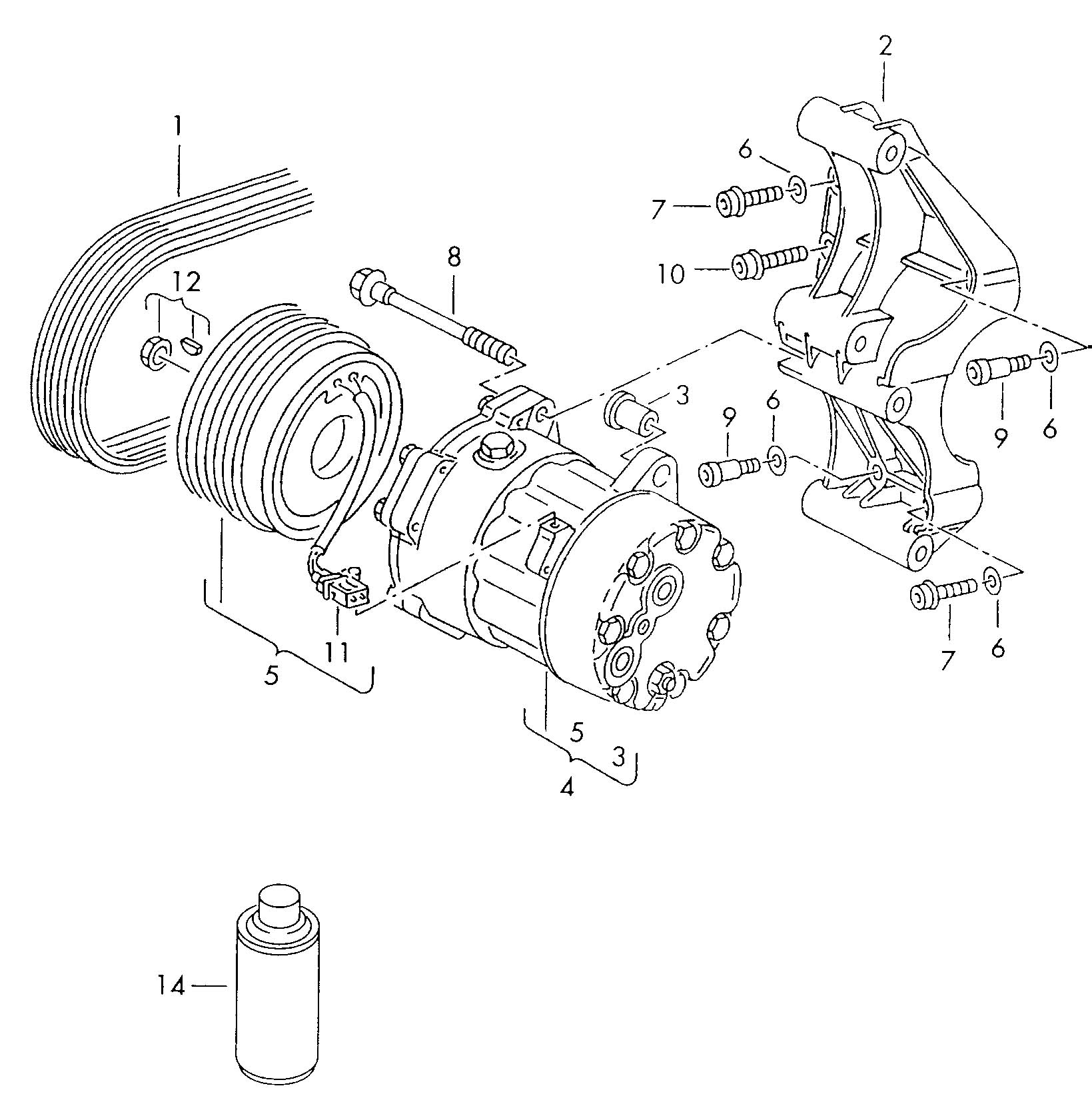 Vw Jetta Ac Parts Diagram Auto Wiring. Diagram. Auto