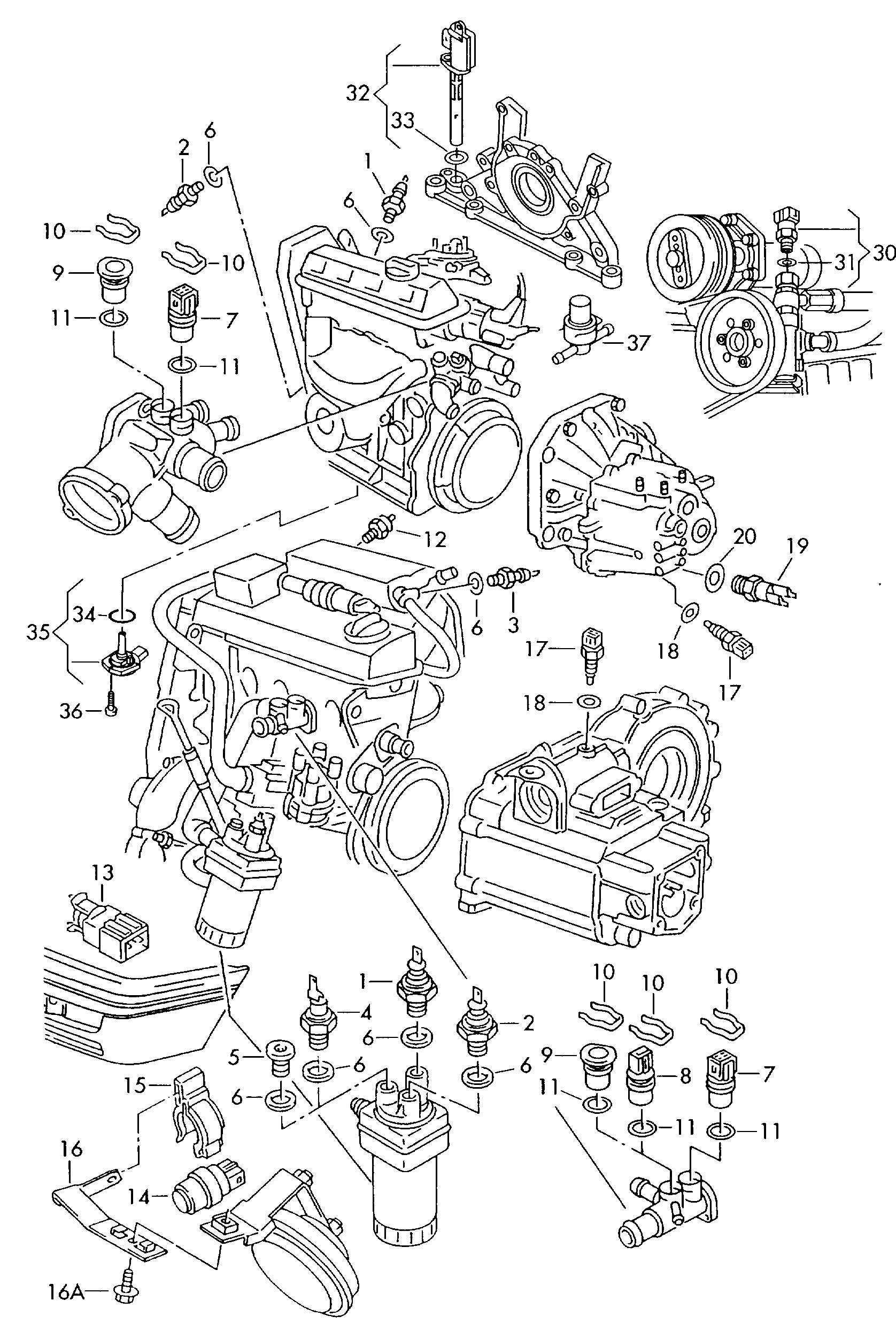 Volkswagen Jetta Oil Pressure Switch Consumption