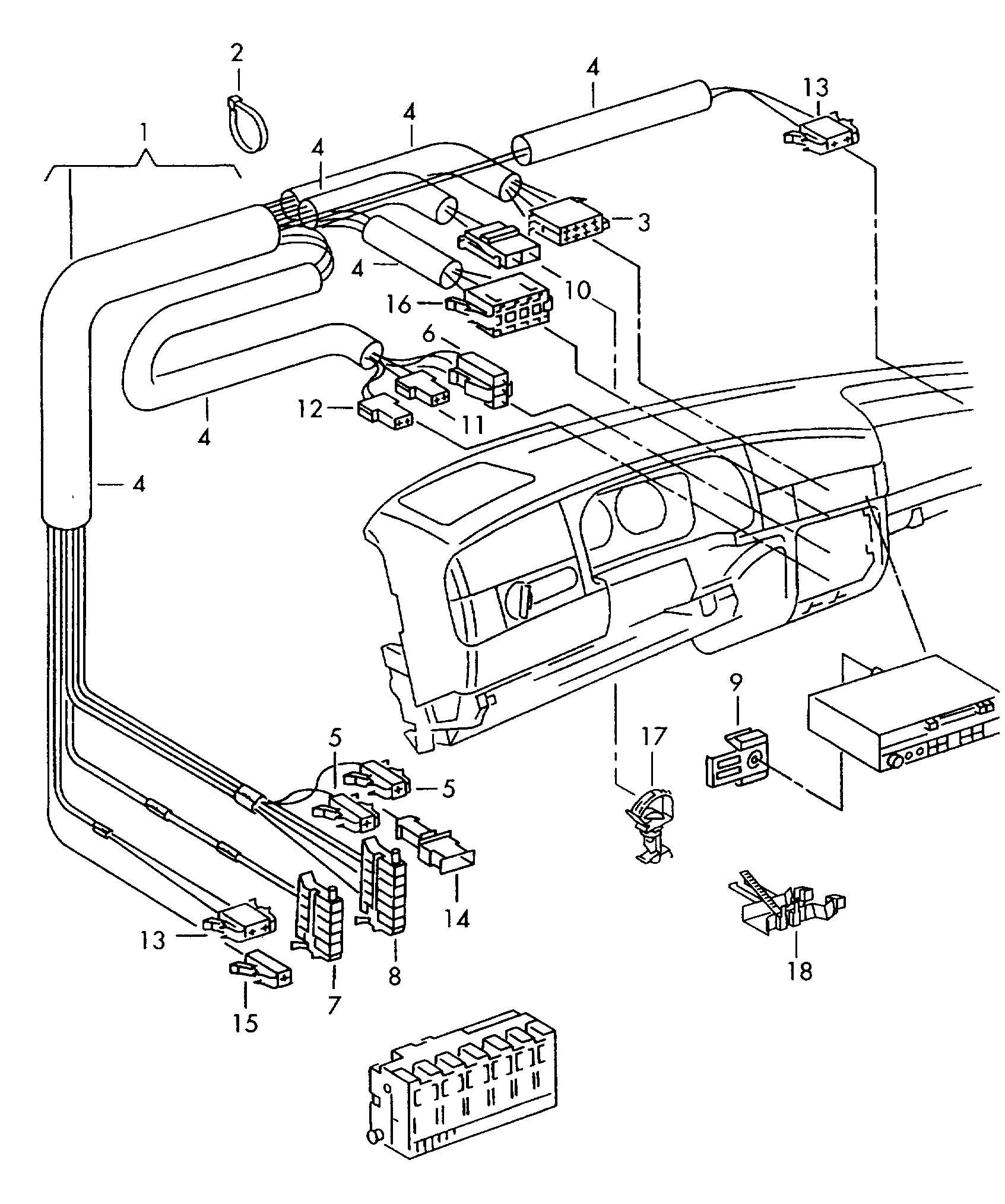 1970 vw bug fuse box