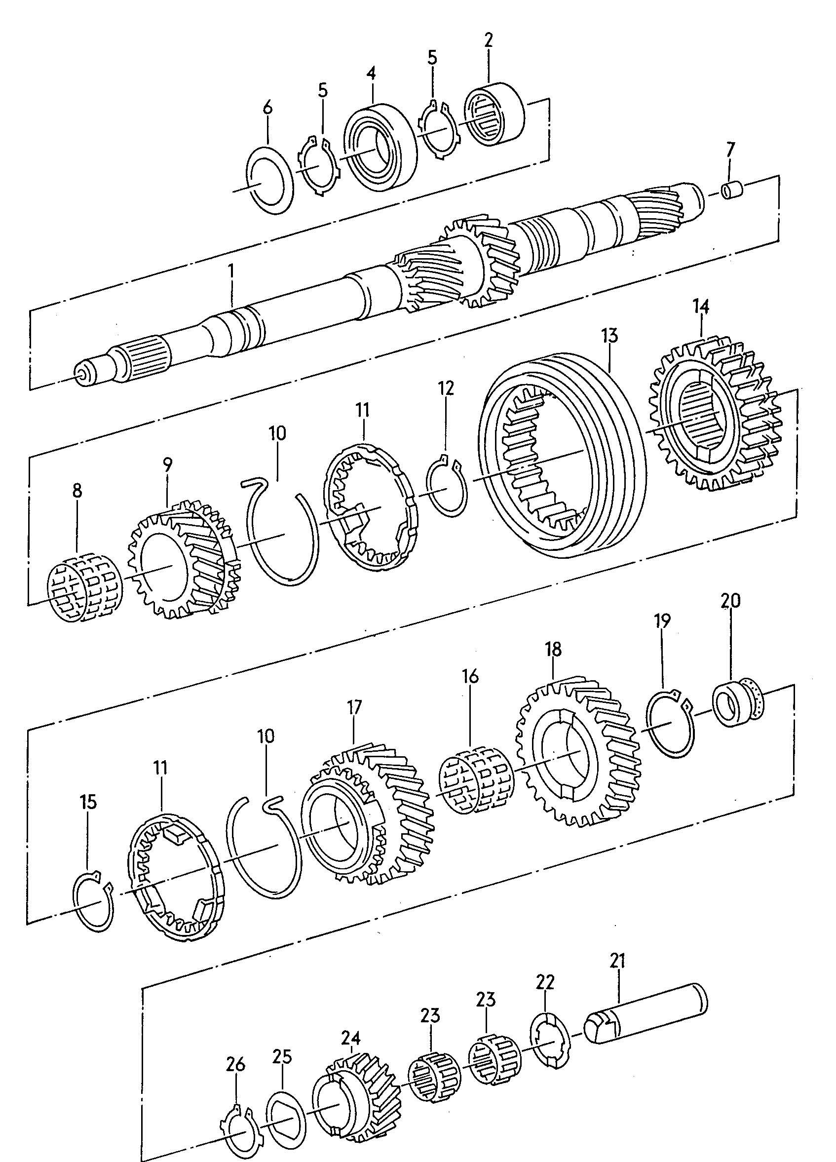 Volkswagen Passat Syncro Synchronizer Ring Syncro Ring