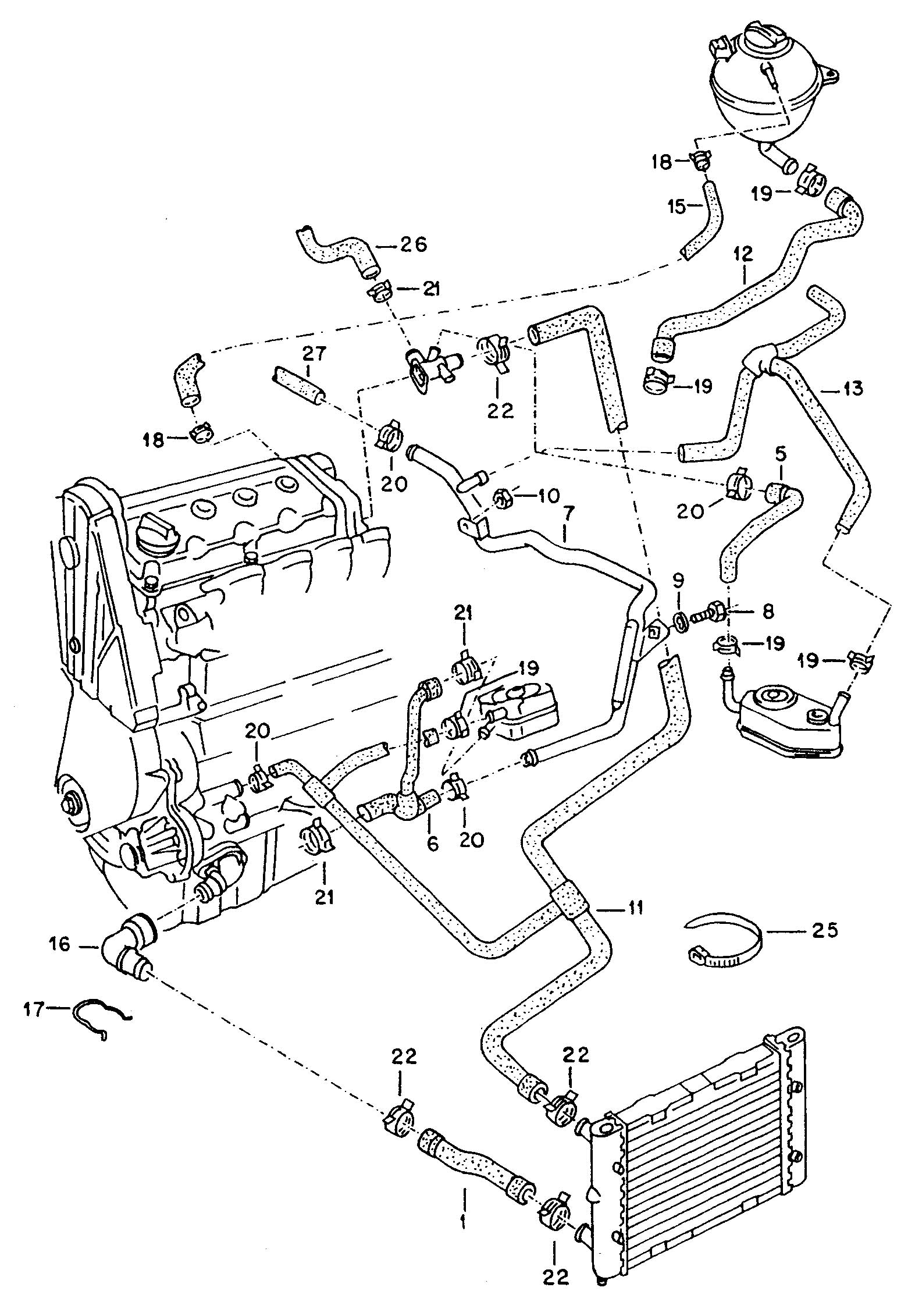 2002 Jetta Cooling System Diagram, 2002, Free Engine Image