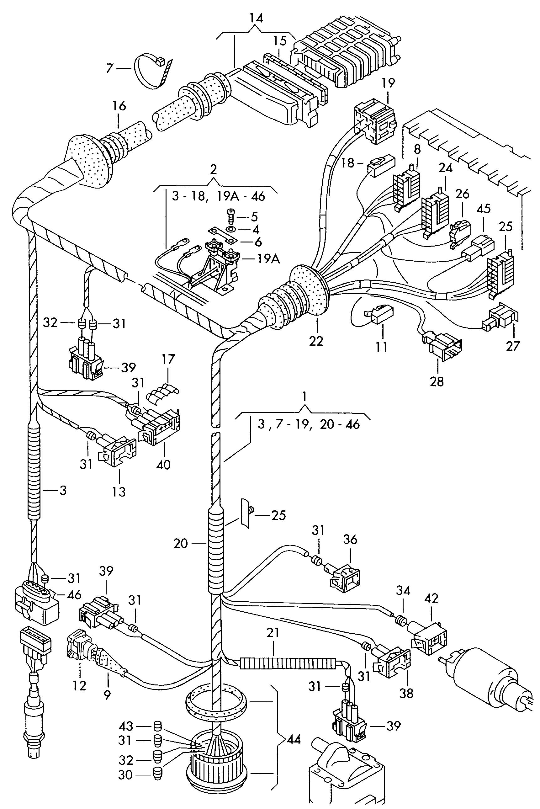 Vw Aba Engine Parts Diagram. Diagram. Auto Wiring Diagram