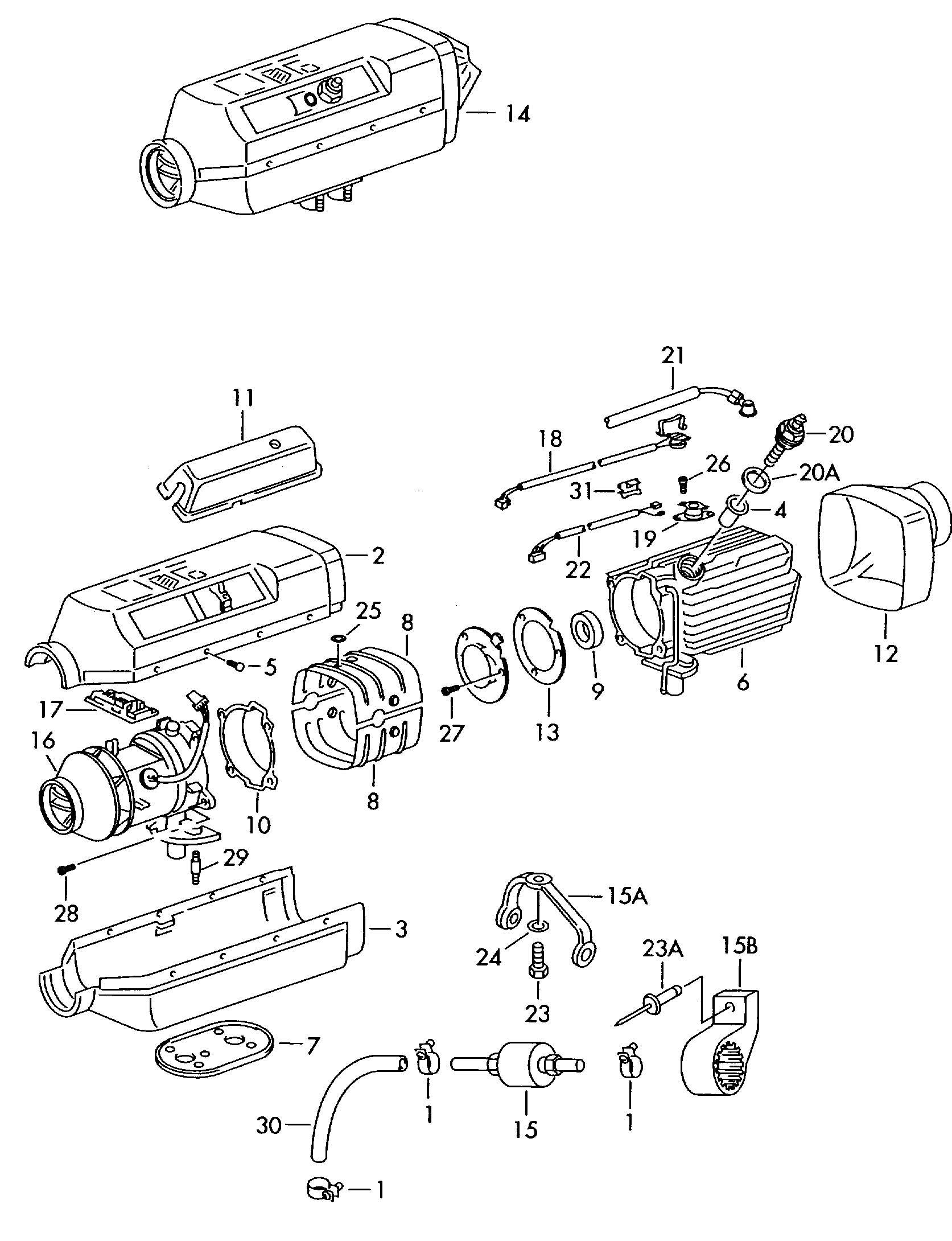 Volkswagen Eurovan Fuel Pump