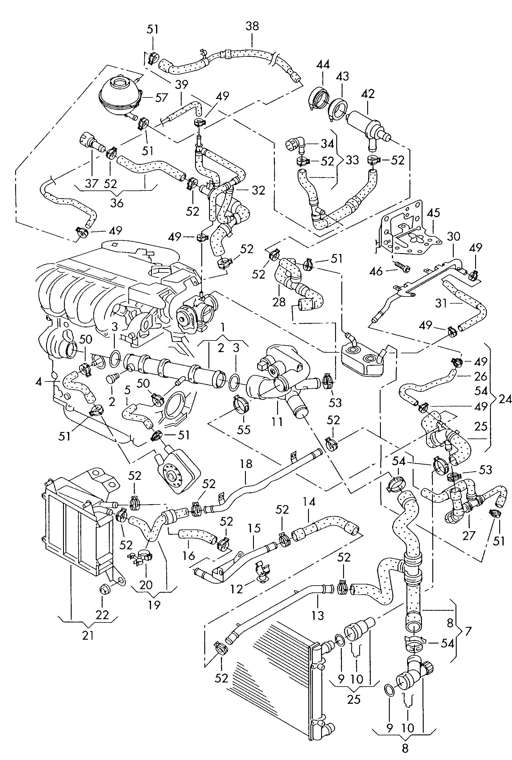mk3 golf vr6 wiring diagram fetal pig digestive system labeled vwvortex another coolant leak what could this be from