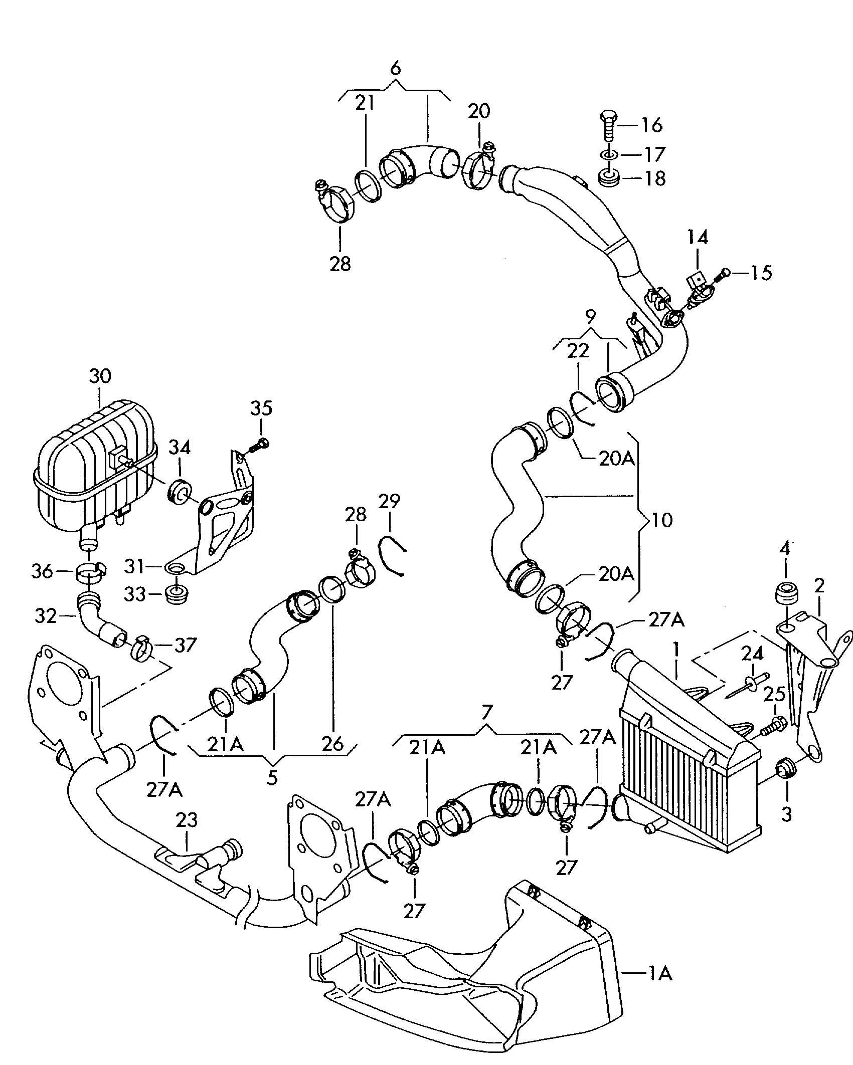 Passat Parts Diagram