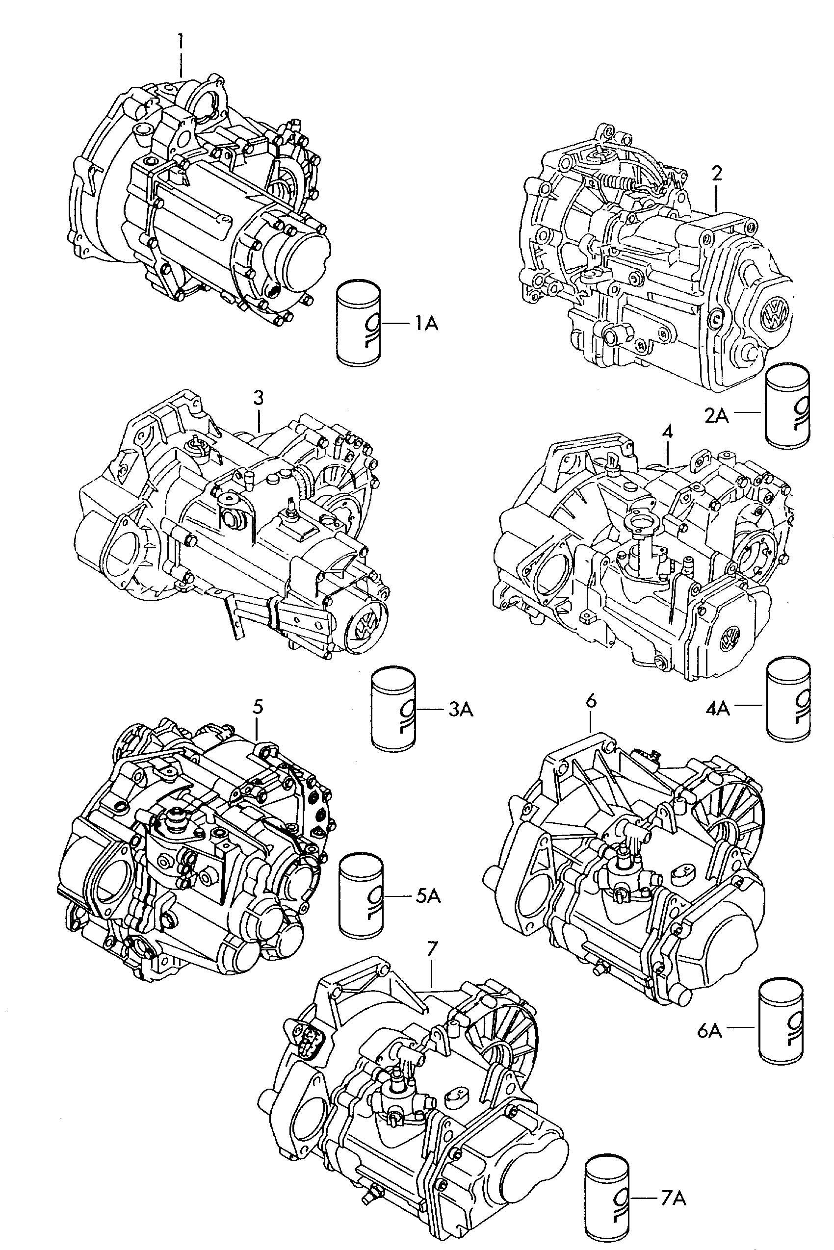 Volkswagen Jetta Transmission oil servicing materials for
