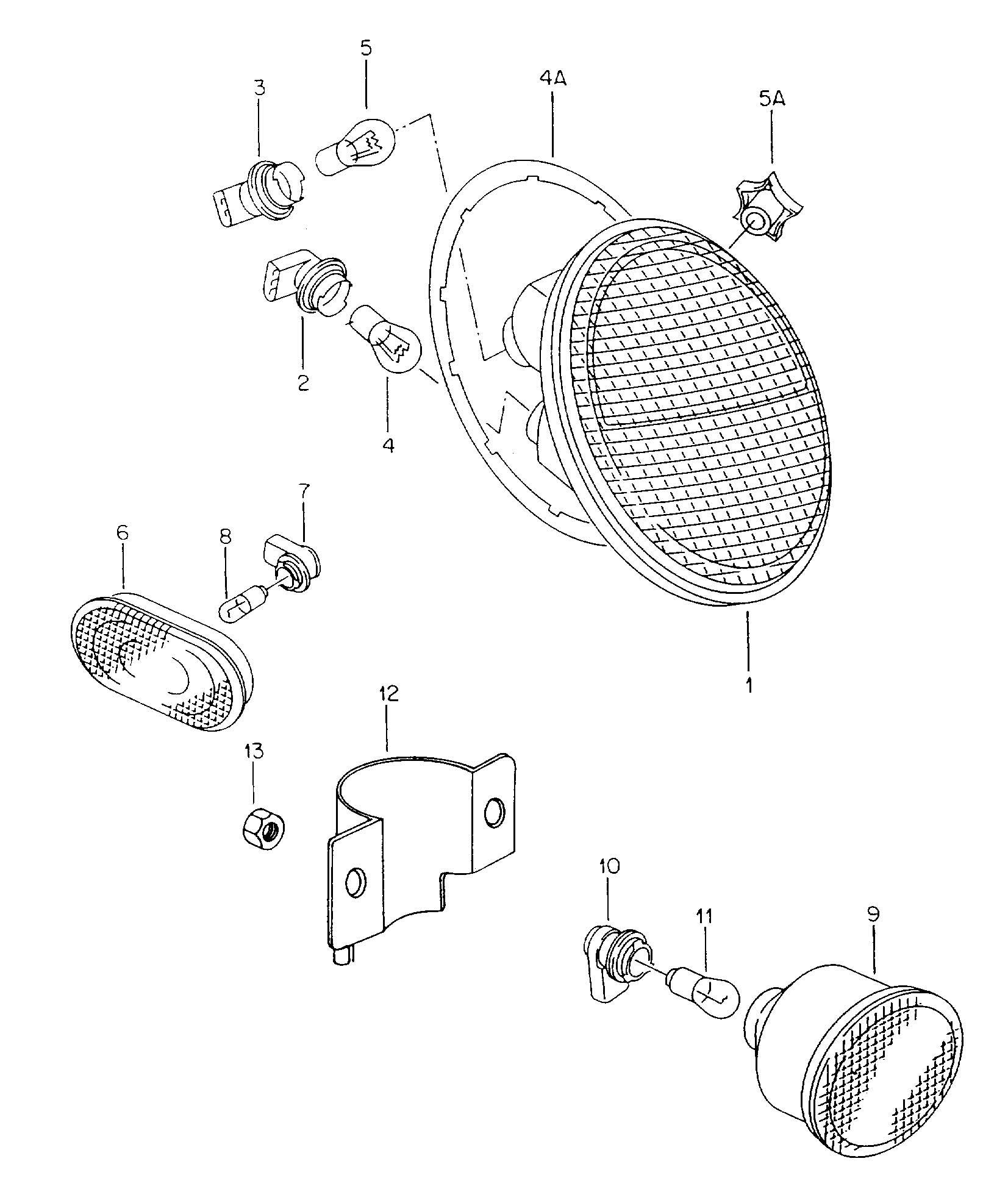 Volkswagen Bulb Socket To Be Used For Socket For