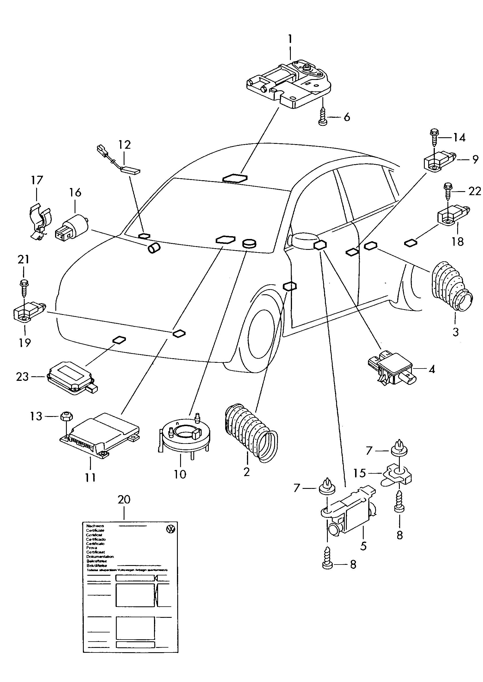 Volkswagen Golf 2 8l Or For Vehicles With Airbag And For