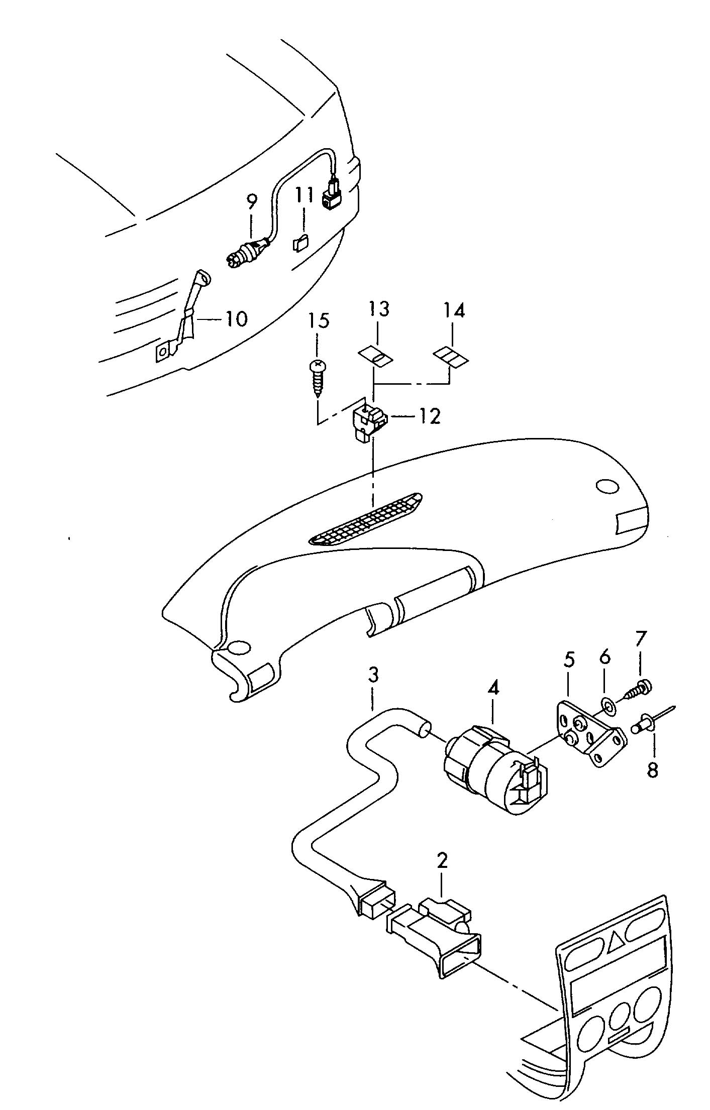 Volkswagen Passat Ambient Temperature Sensor Ambient