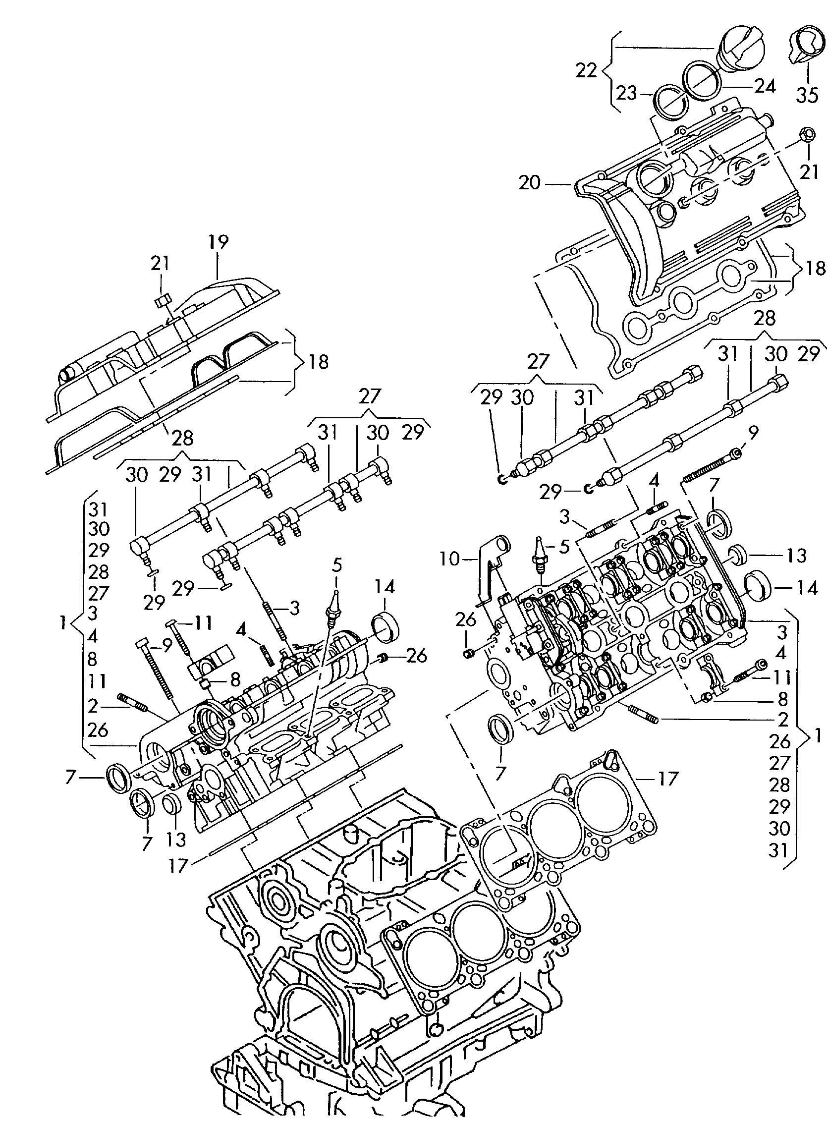 Volkswagen Passat Syncro Gasket