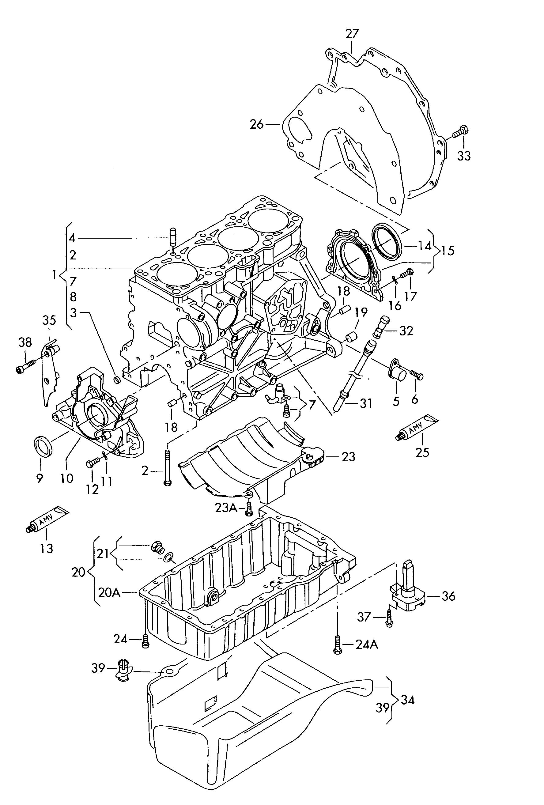 Volkswagen Passat Engine Diagram
