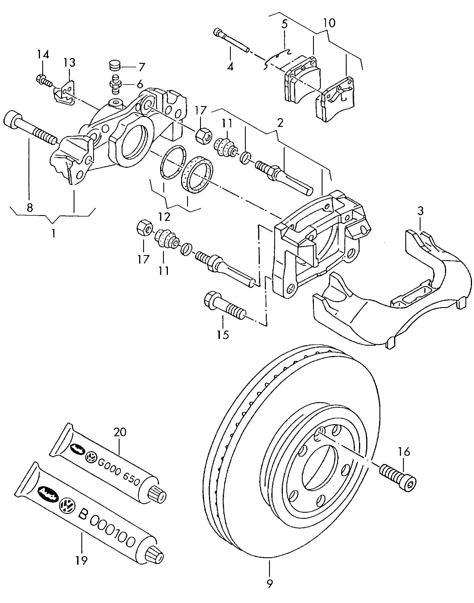 25 Vw Passat Front Suspension Diagram