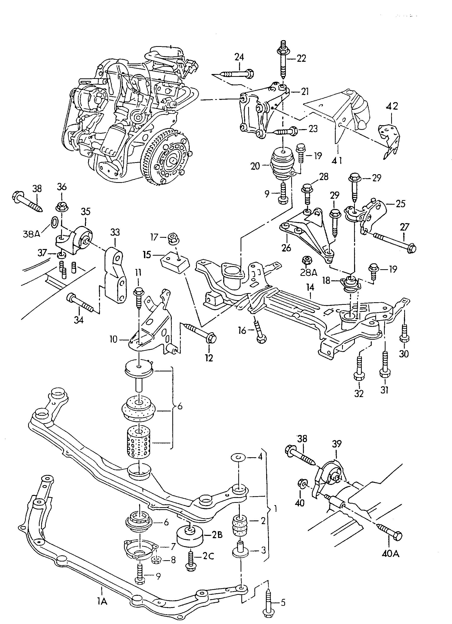 Vw Engine Cover Parts Diagram 2001, Vw, Free Engine Image