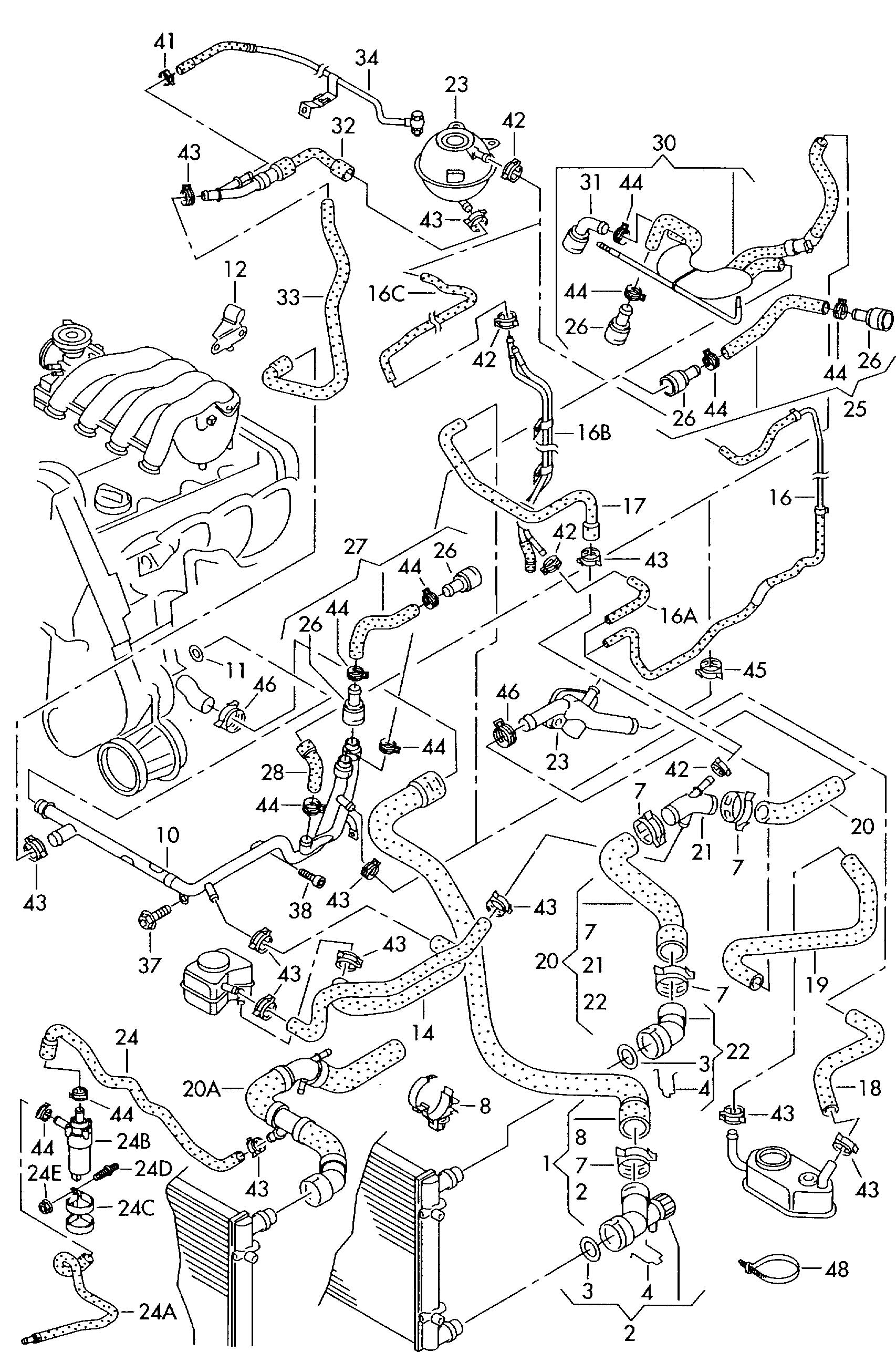 2001 Jetta Parts Diagram, 2001, Free Engine Image For User