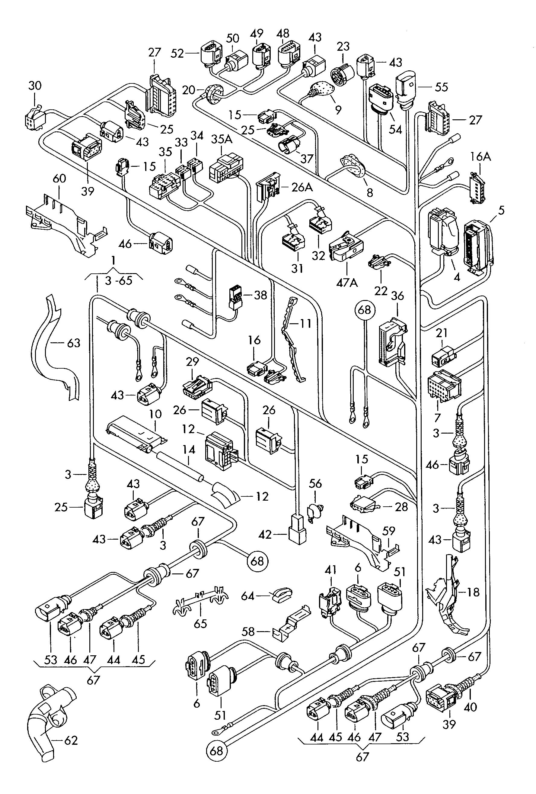 hight resolution of cable wire harness circuit diagram 3 wire bulb holder wiring harness parts wig wag wire harness