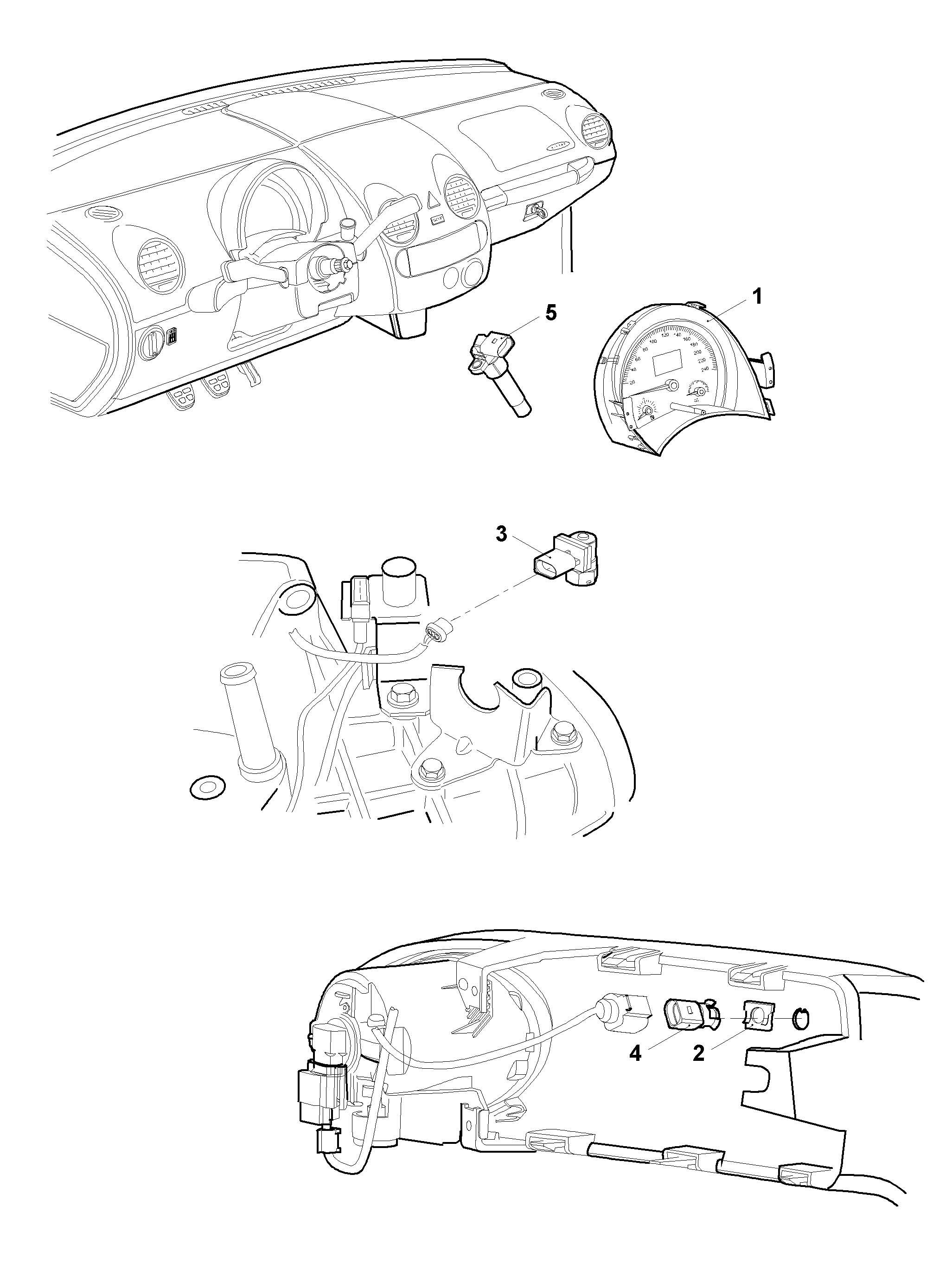 Volkswagen New Beetle 1 9l Tdi Instrument Cluster Combi