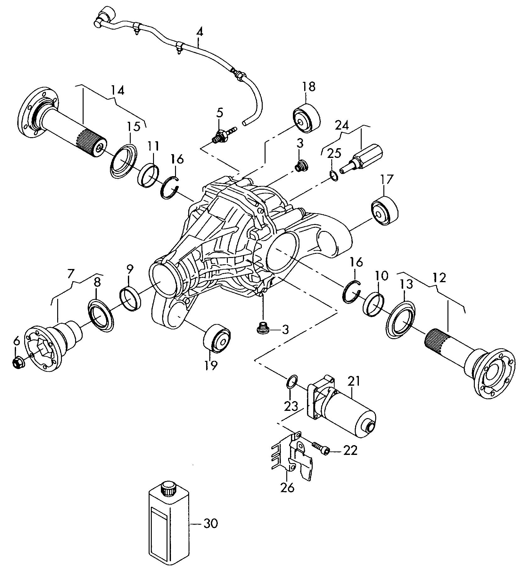 Volkswagen Touareg Motor for adjustment also use:. Tial