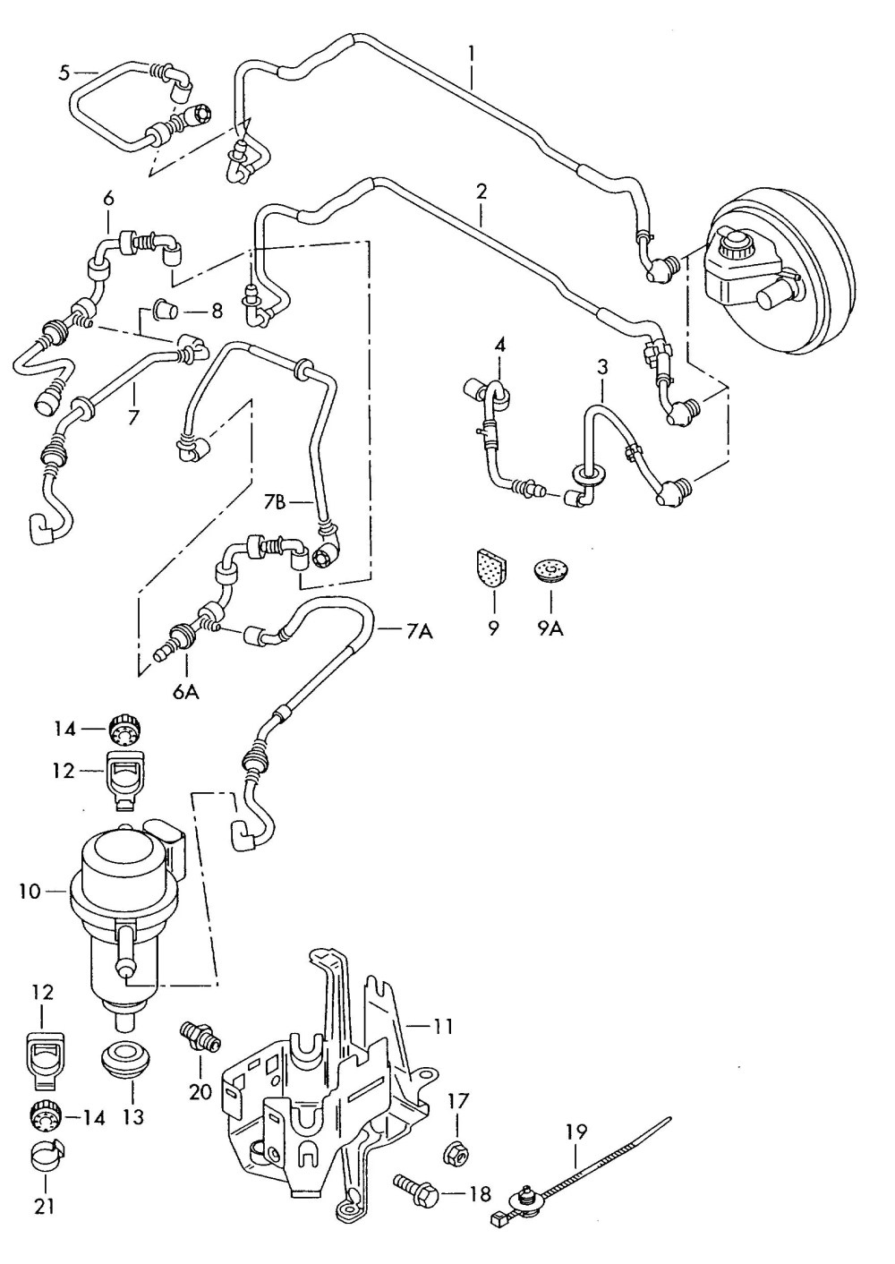 medium resolution of 17887 brake boost vacuum system mechanical failure anyone know the vagcom output